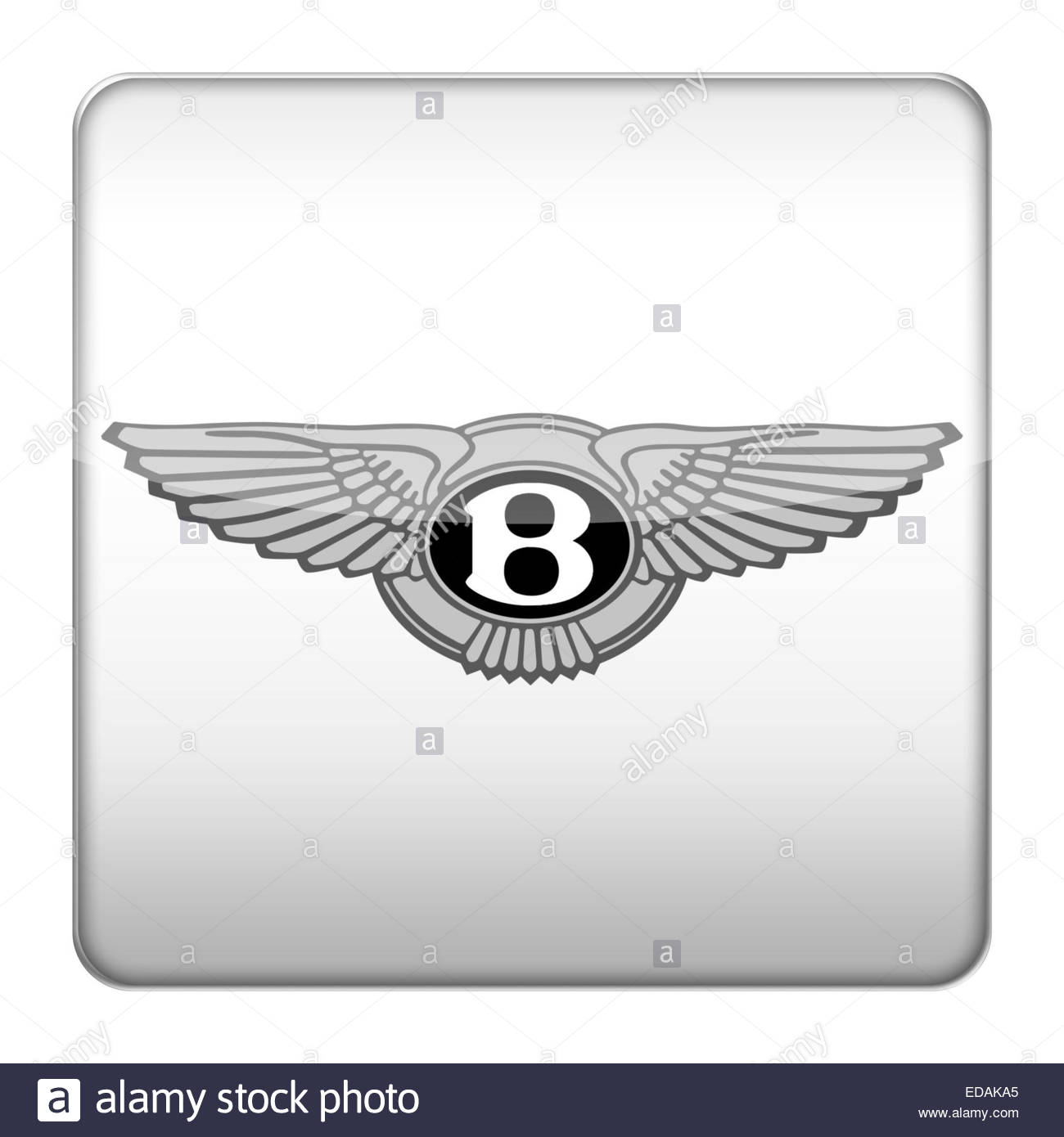 Bentley-Logo-Symbol Stockbild