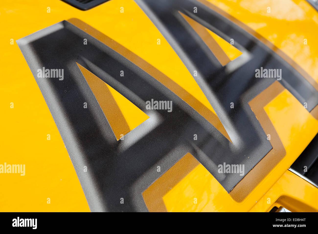 Anschauliches Bild von der AA. Stockbild