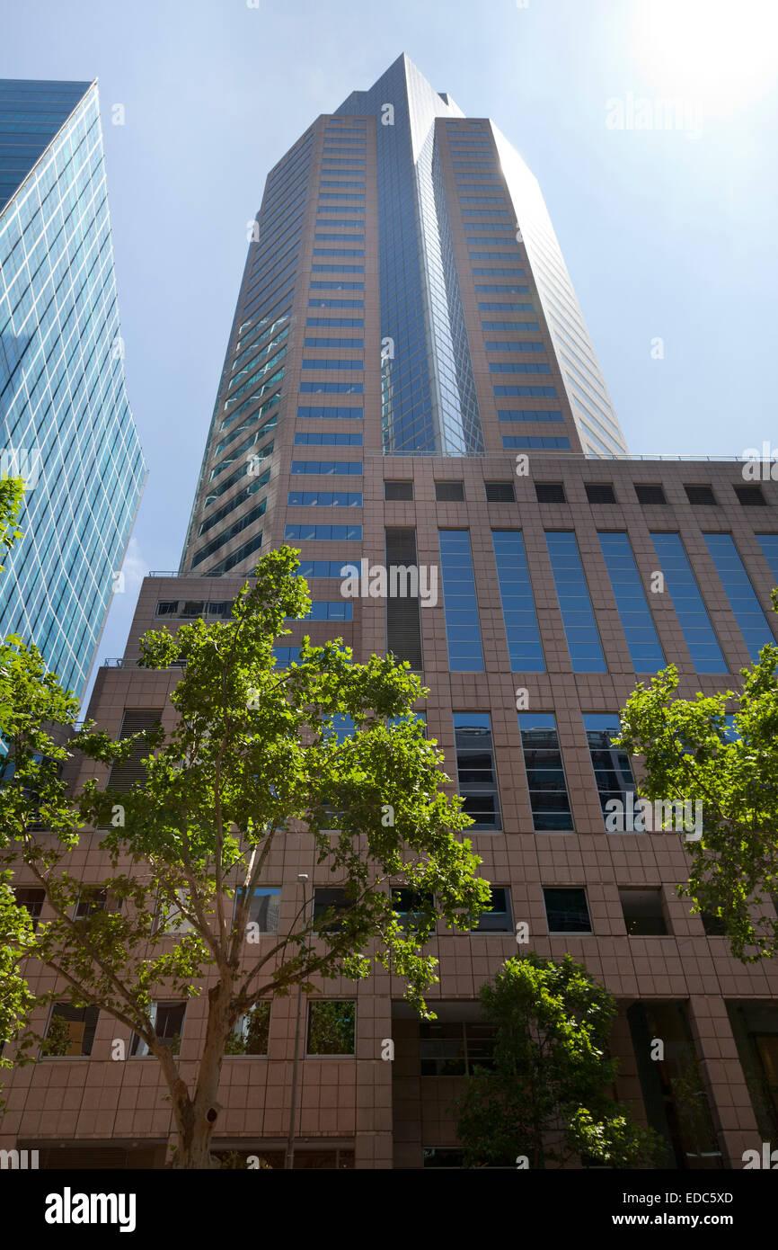 Moderne Architektur in Melbourne, Australien Stockbild