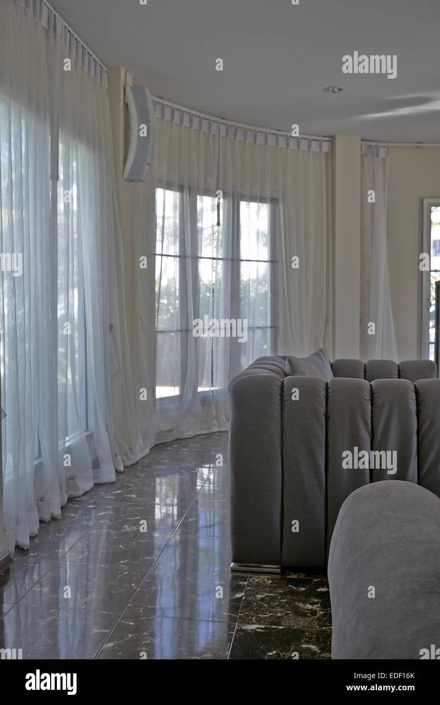 Faszinierend Moderne Wohnlandschaft Galerie Von Mit Weichen Möbeln Und Boden Bis Zur