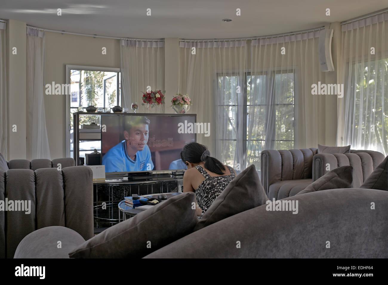 Astounding Moderne Wohnlandschaft Dekoration Von Mit Weichen Möbeln Und Boden Bis Zur