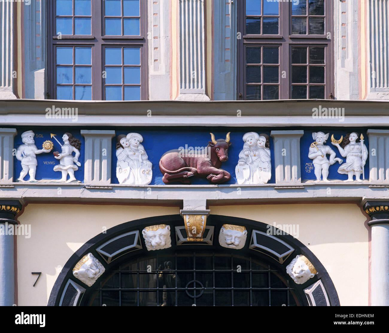 Haus Zum Roten Ochsen Fish Stockfotos & Haus Zum Roten Ochsen Fish ...