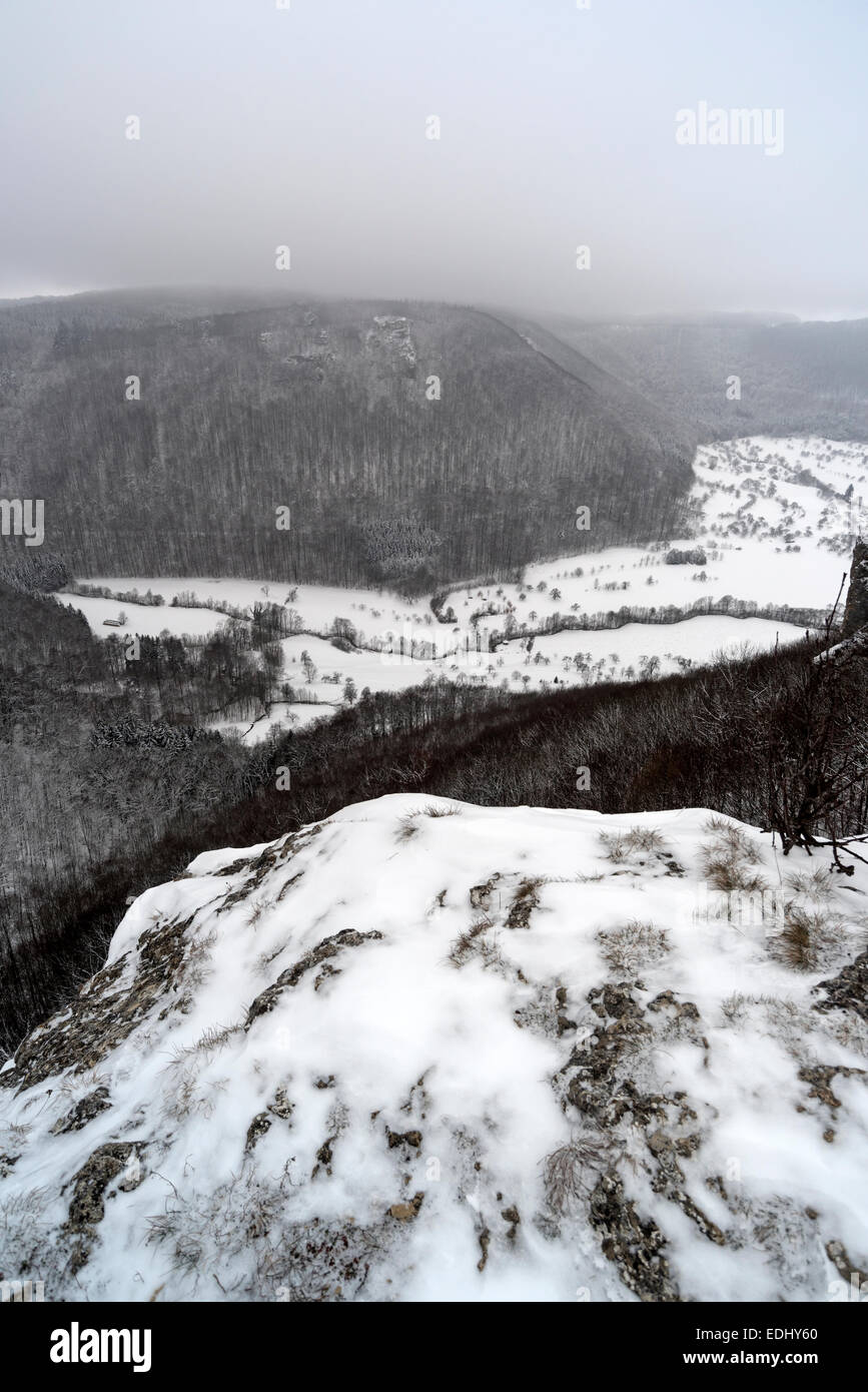 Schwäbischen Alb Stockbild