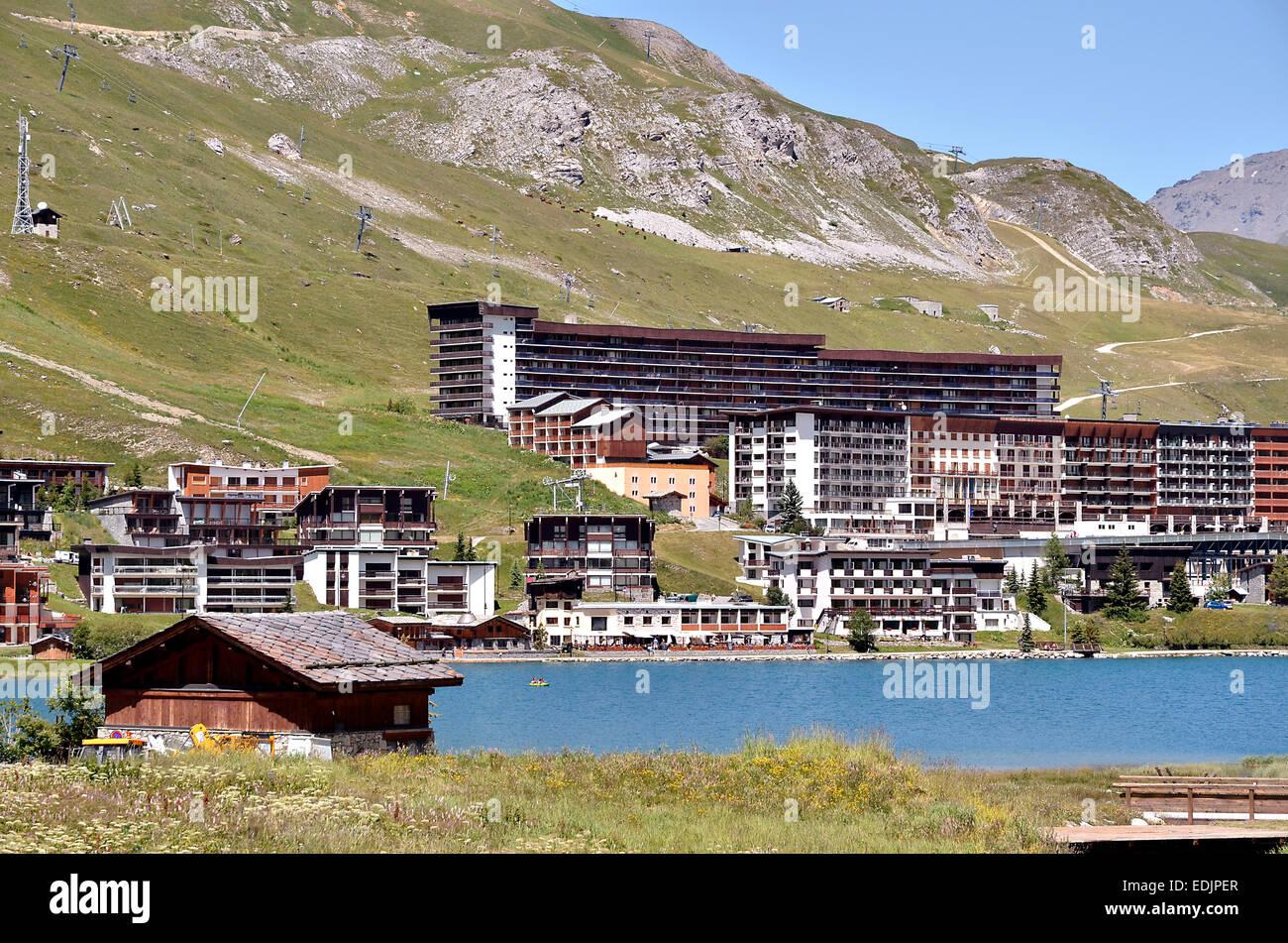 See von Tignes in Frankreich Stockfotografie - Alamy