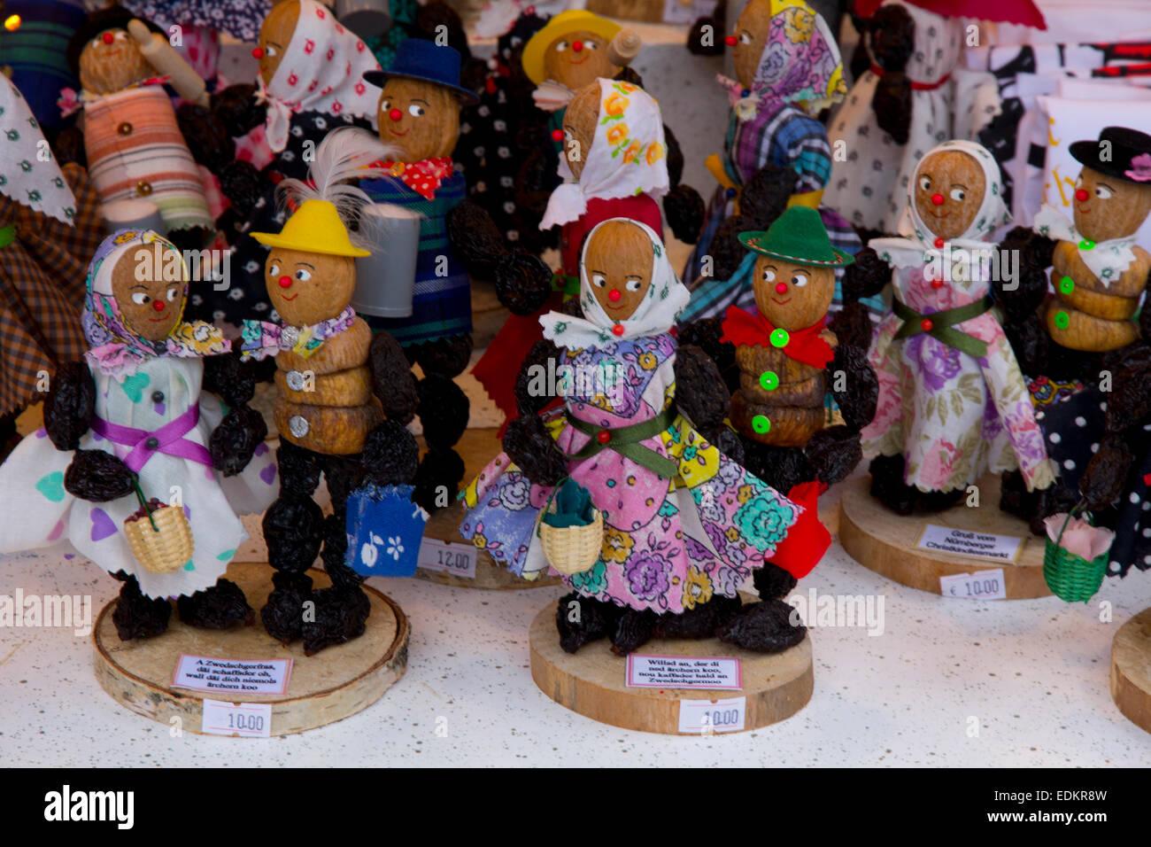 Weihnachtsmarkt Heiligabend.Berühmte Nürnberger Christkindlmarkt Weihnachtsmarkt Wird Jedes