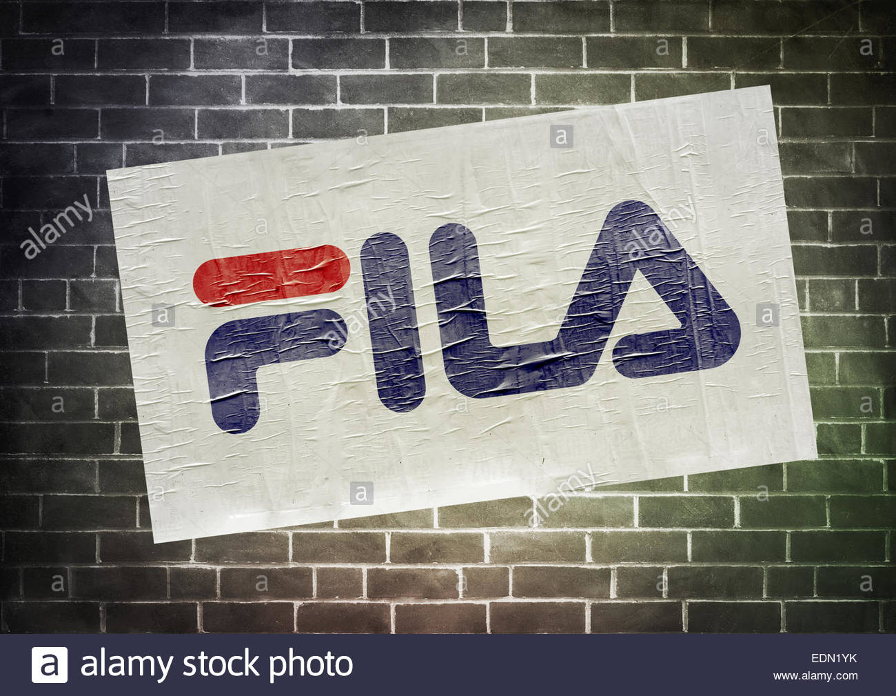 Fila Logo Icon Sign Stockfotos & Fila Logo Icon Sign Bilder