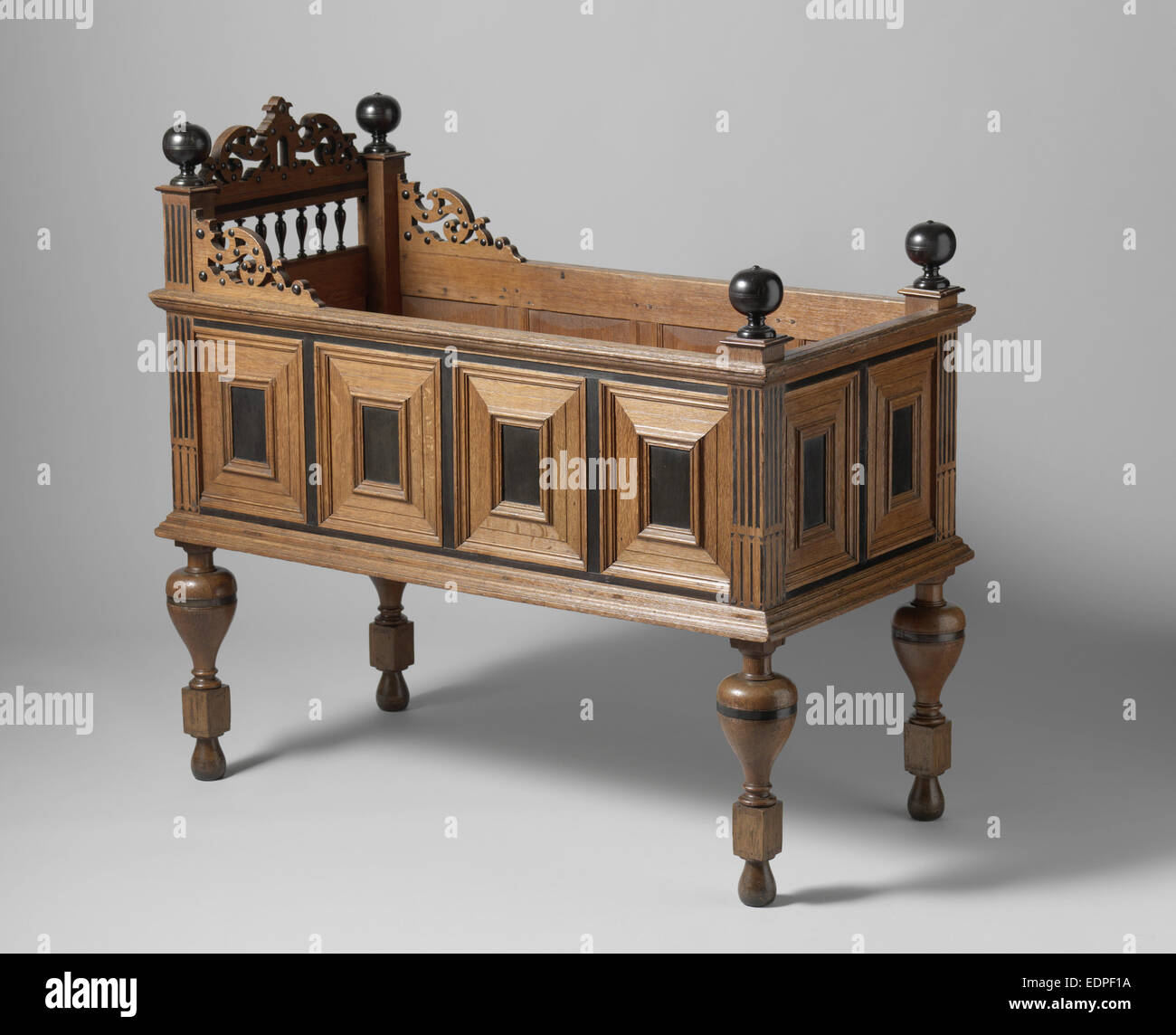 Des Kindes Kinderbett, anonym, c. 1620 - c. 1650 Stockbild
