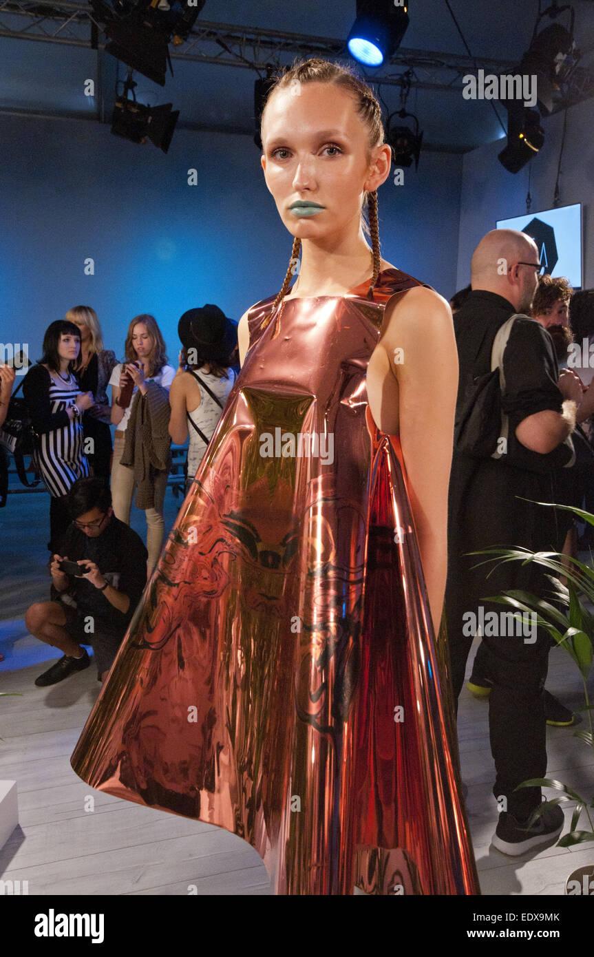 Mercedes Benz Fashion Week Berlin Frühjahrsommer 2015 Bei Erika