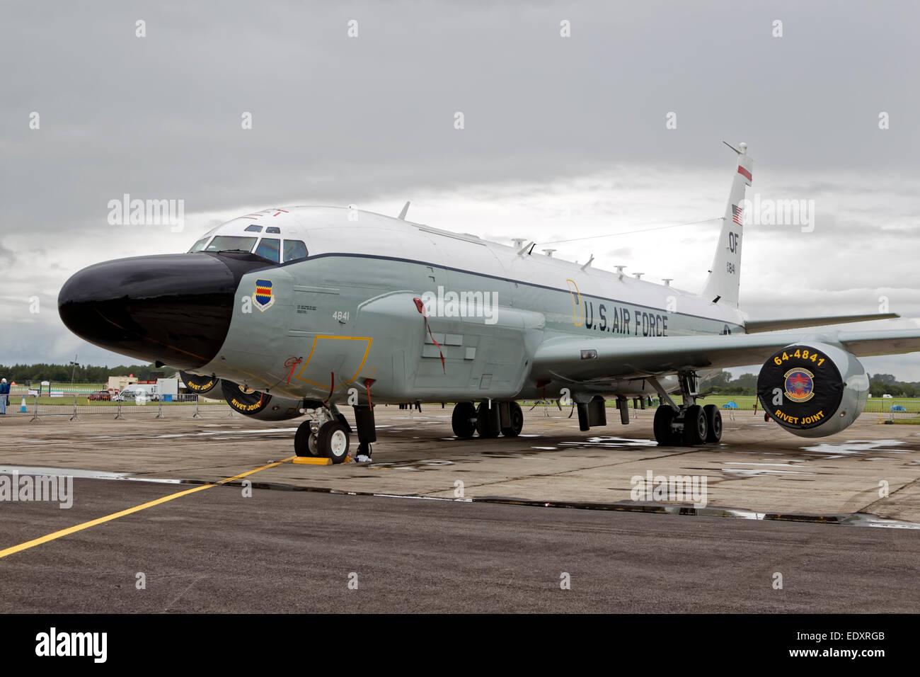 """Boeing RC-135V """"Rivet Joint"""", USAF, Air Combat Command. Stockbild"""