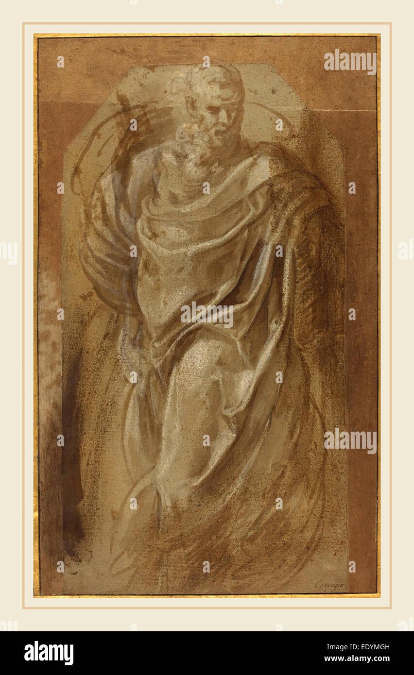 Girolamo Muziano, Italienisch (1528 oder 1532 1592), A Stand Man