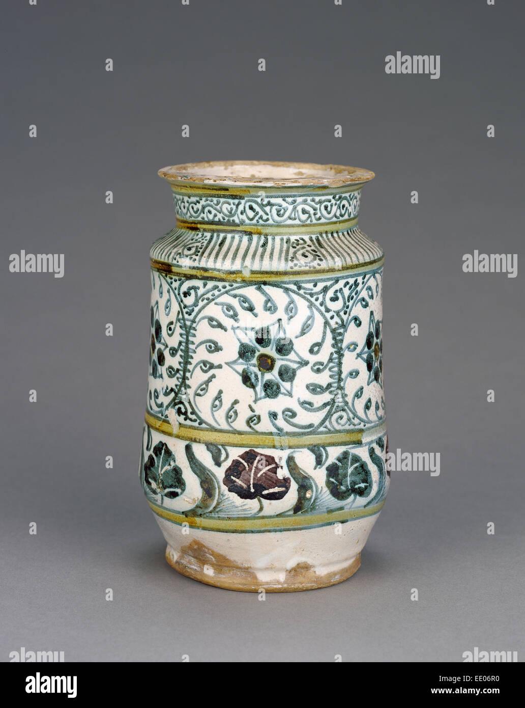 Alte Berufe 19tes Jahrhundert Albarello Italien Montelupo Flaschen & Gefäße