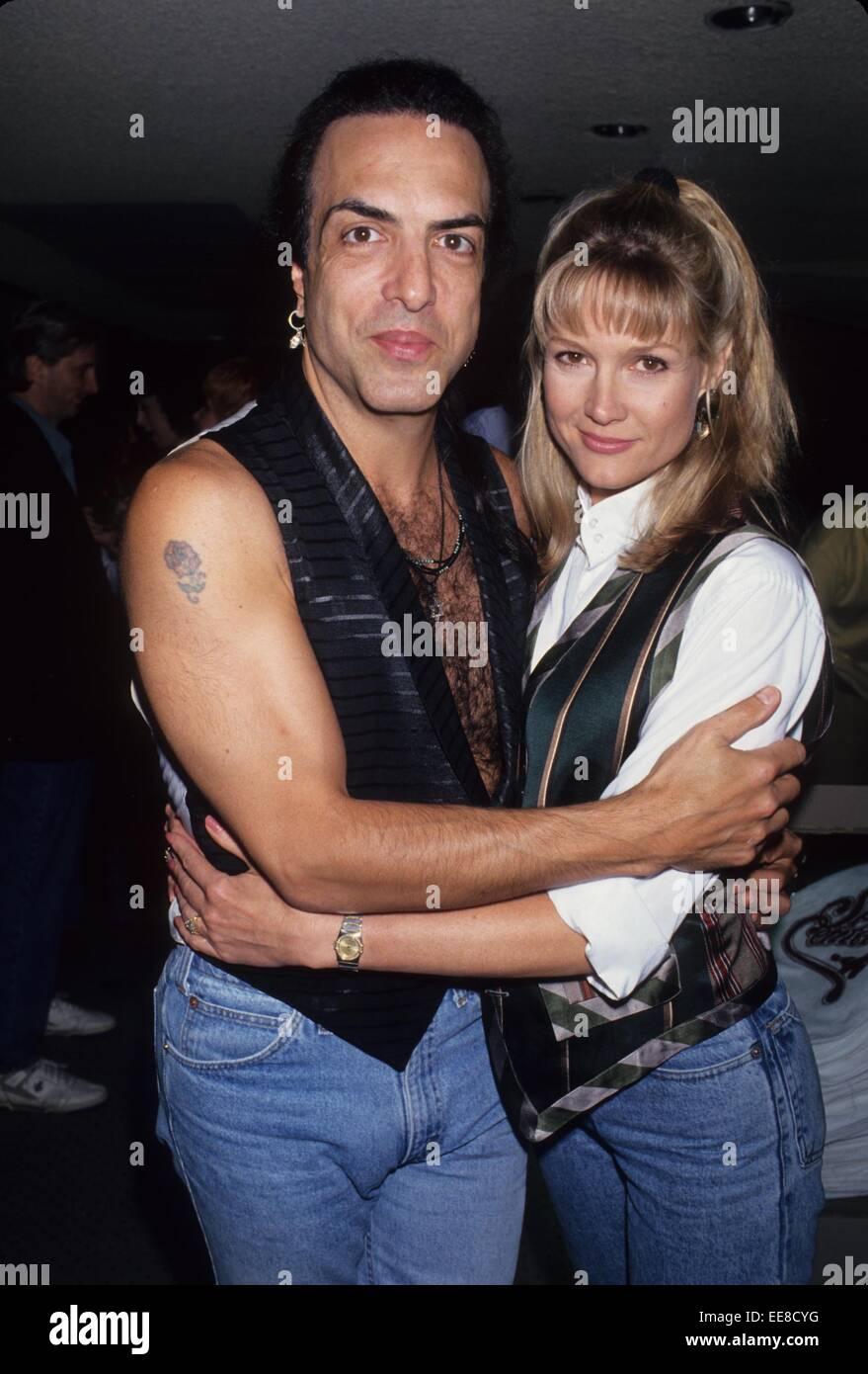 PAUL STANLEY mit Pamela Bowen.l6310lr. © Lisa Rose/Globe Fotos/ZUMA ...