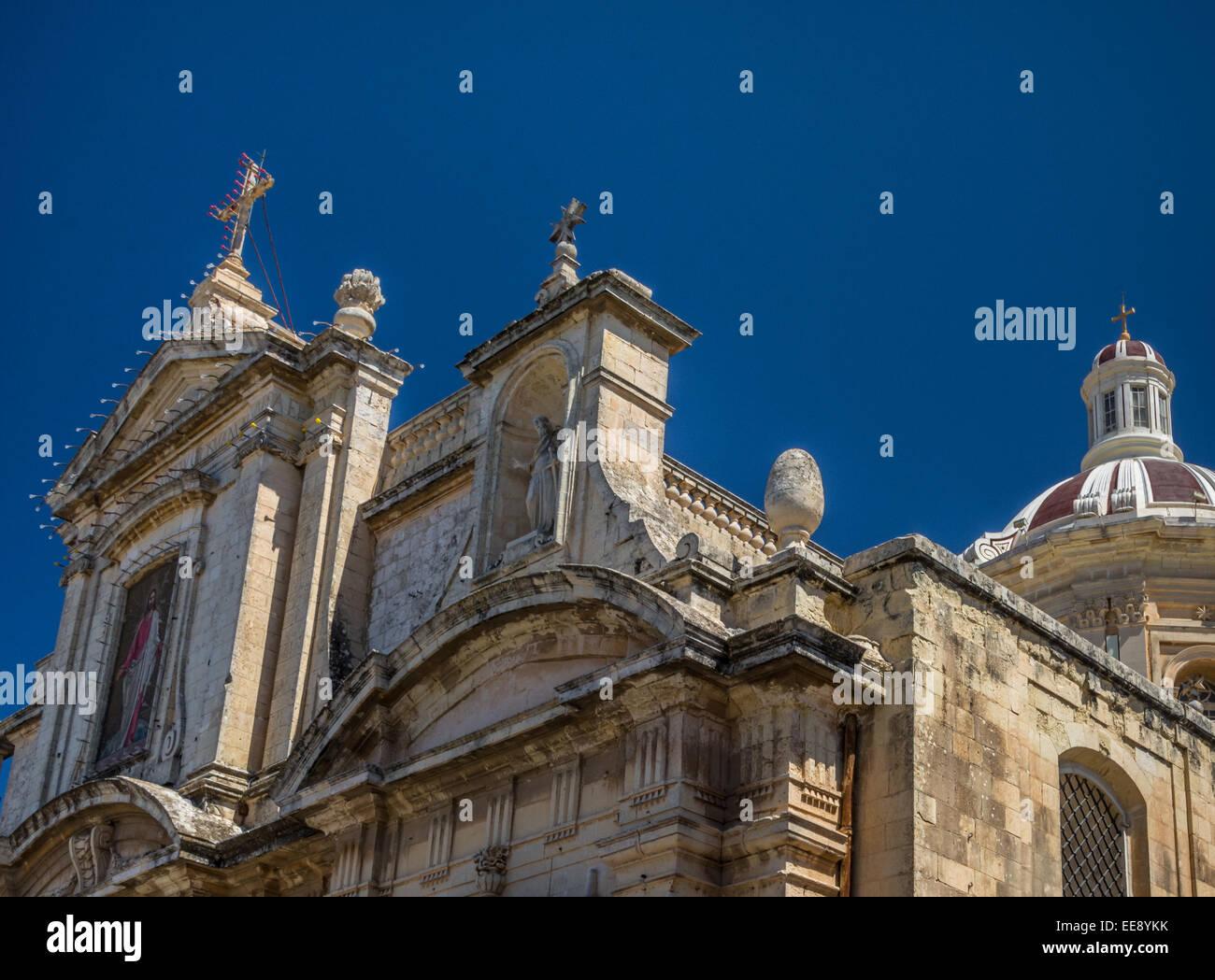 Kirche des hl. Paulus, Rabat, Malta Stockbild