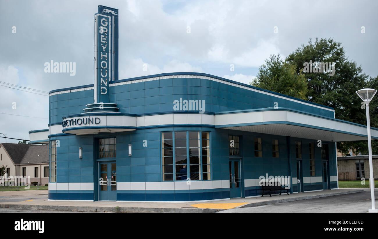 Bewahrt, Greyhound Station Blytheville Arkansas, optimieren Moderne ...