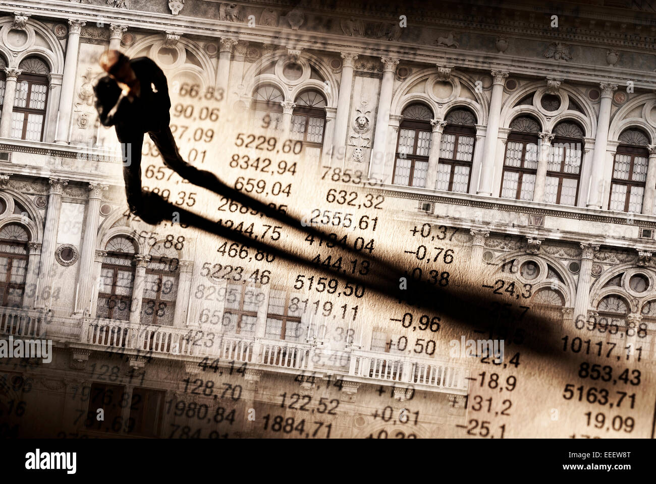 Klassiker für nachhaltiges Investment banking Stockbild