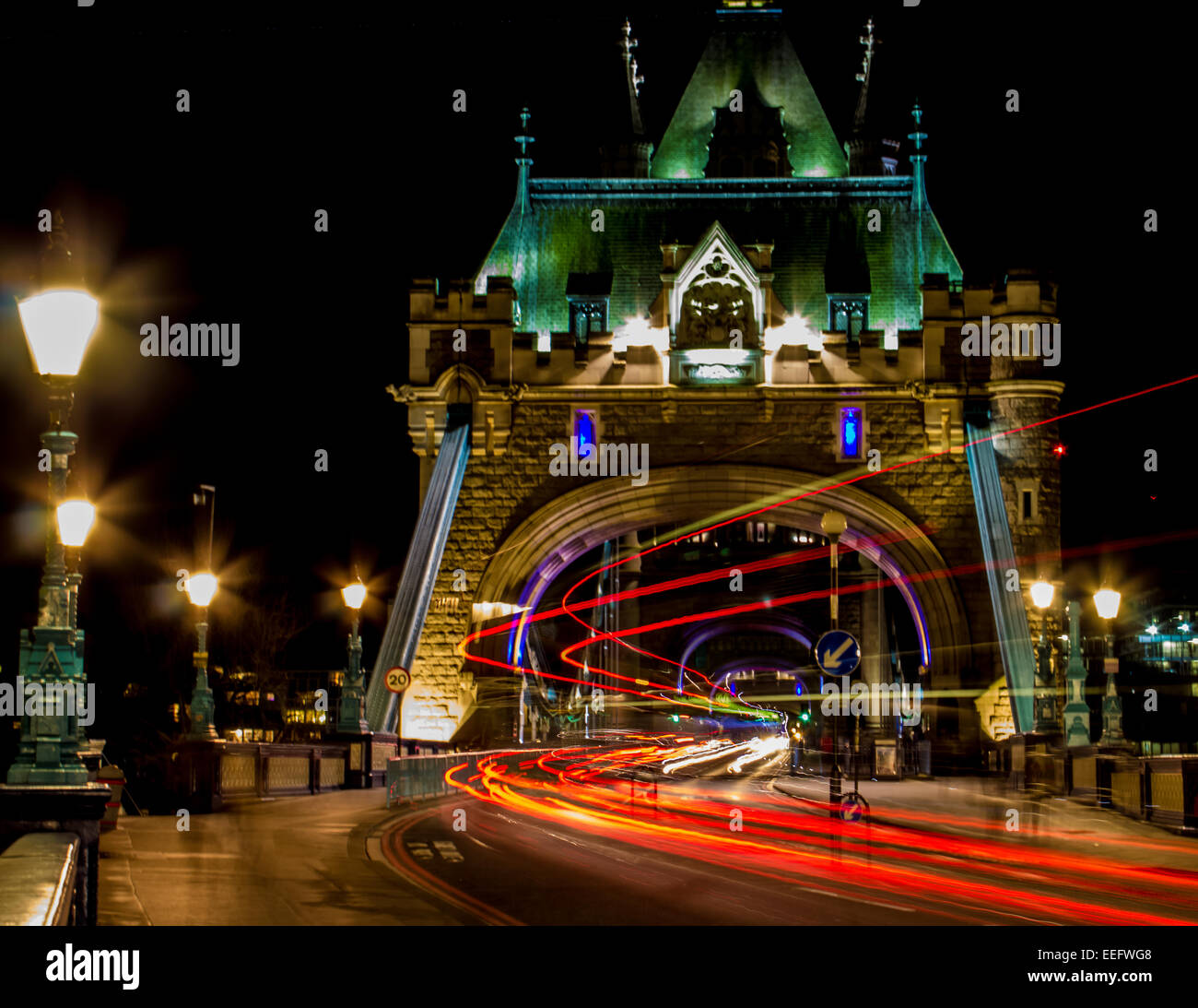 Tower Bridge-London Stockfoto