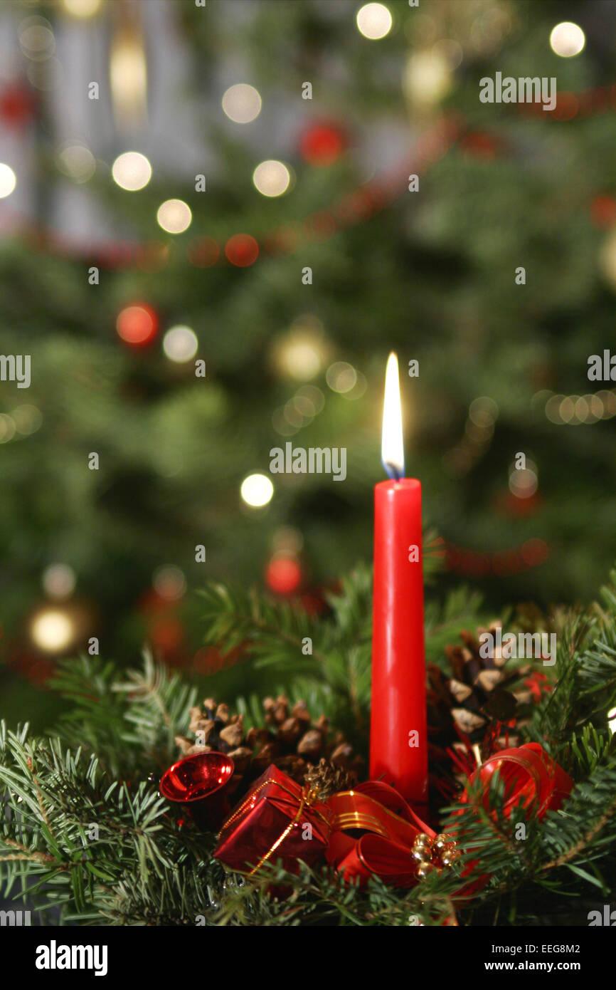 Xmas Deko Weihnachtsbaum.Weihnachten Xmas Licht Kerze Kerze Baum Dekoration Licht