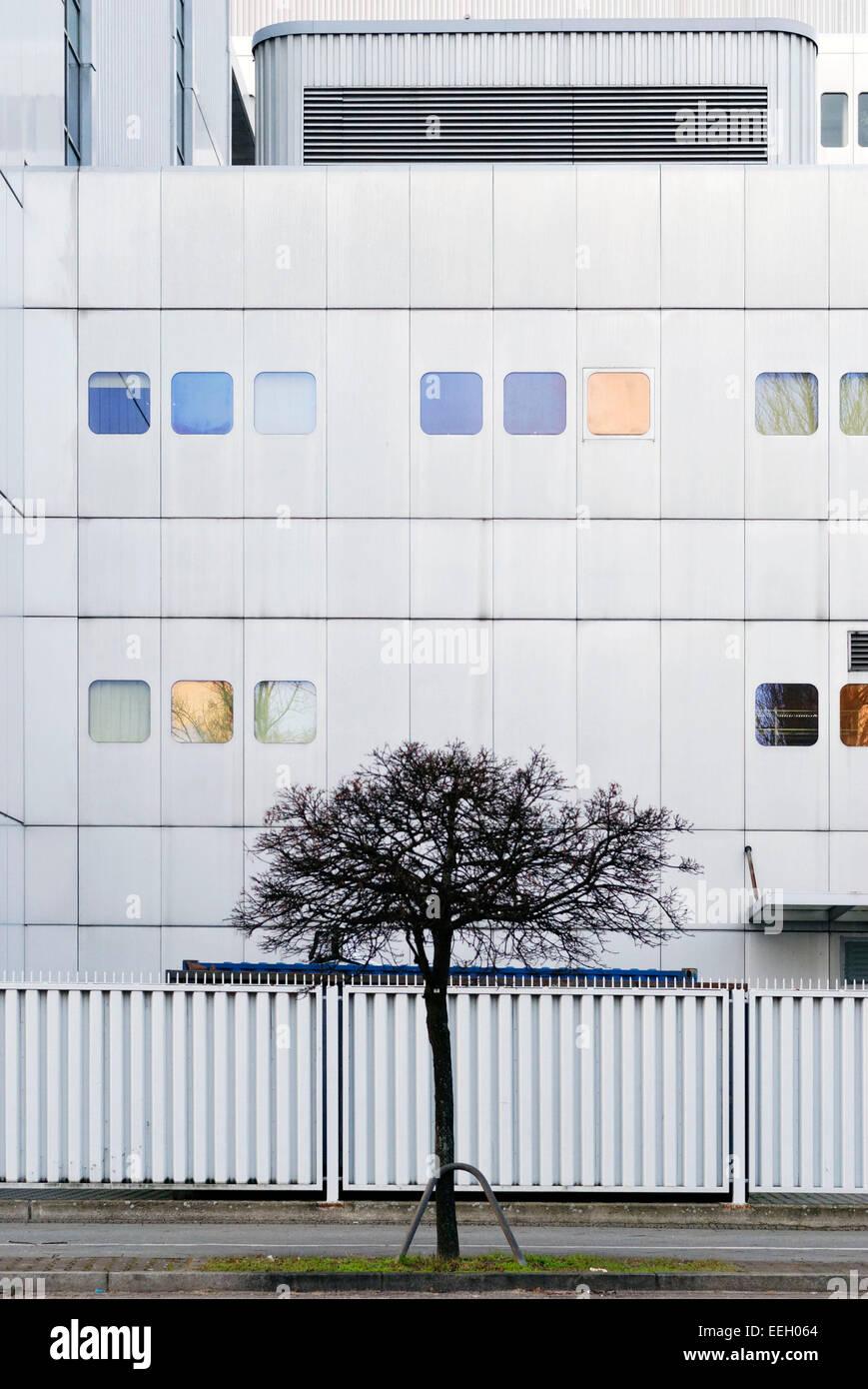 Ein Gebäude in Berlin Stockbild
