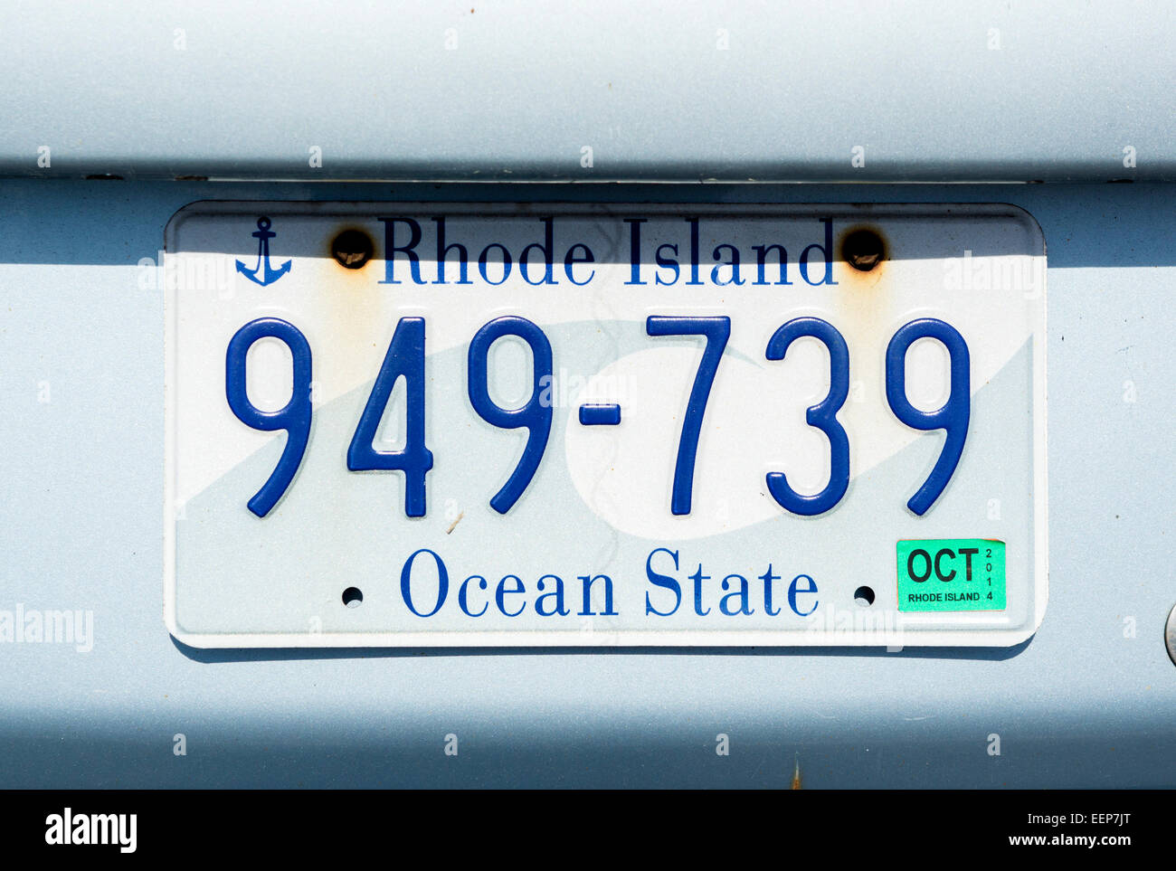 Close Up License Plate Stockfotos & Close Up License Plate Bilder ...