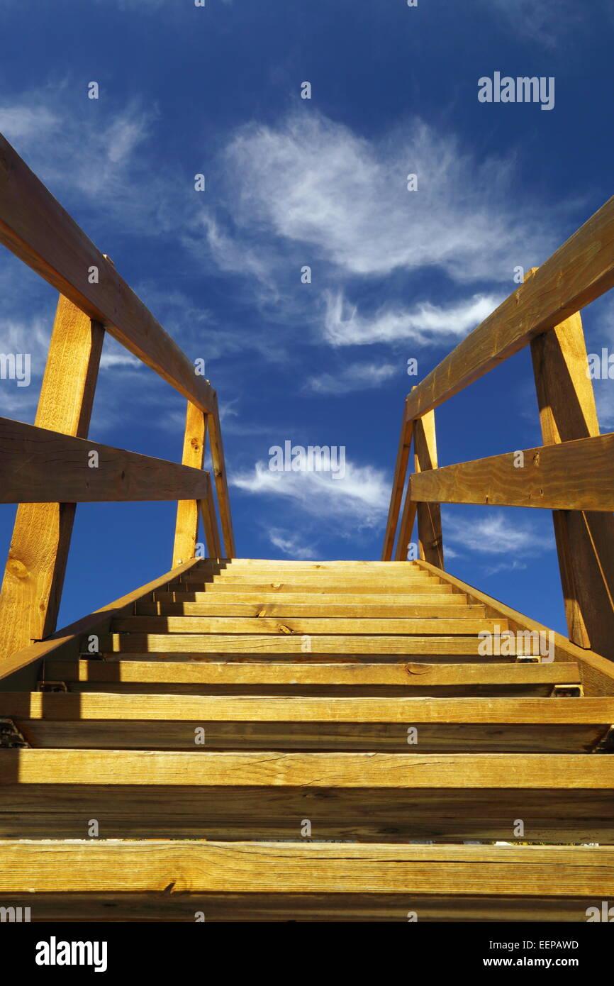 eine treppe in den himmel diese schritte am aussichtspunkt in der n he von esperance western. Black Bedroom Furniture Sets. Home Design Ideas
