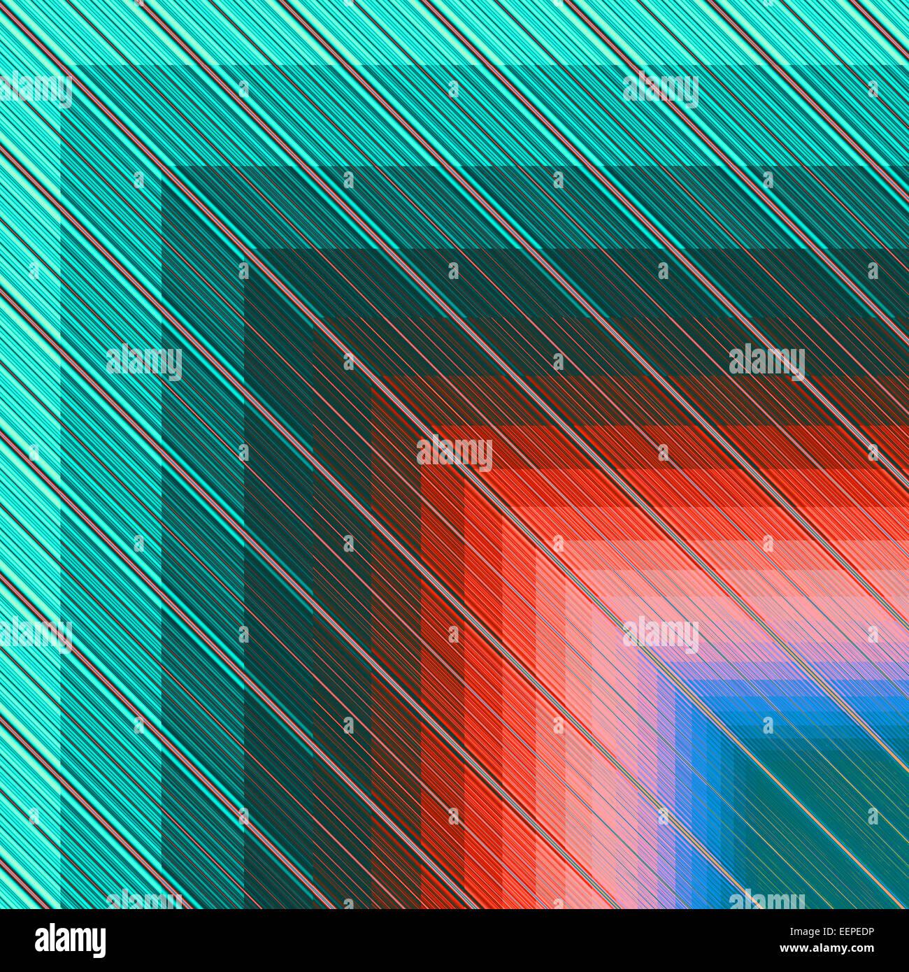 Digital erzeugte abstrakte Muster Stockbild