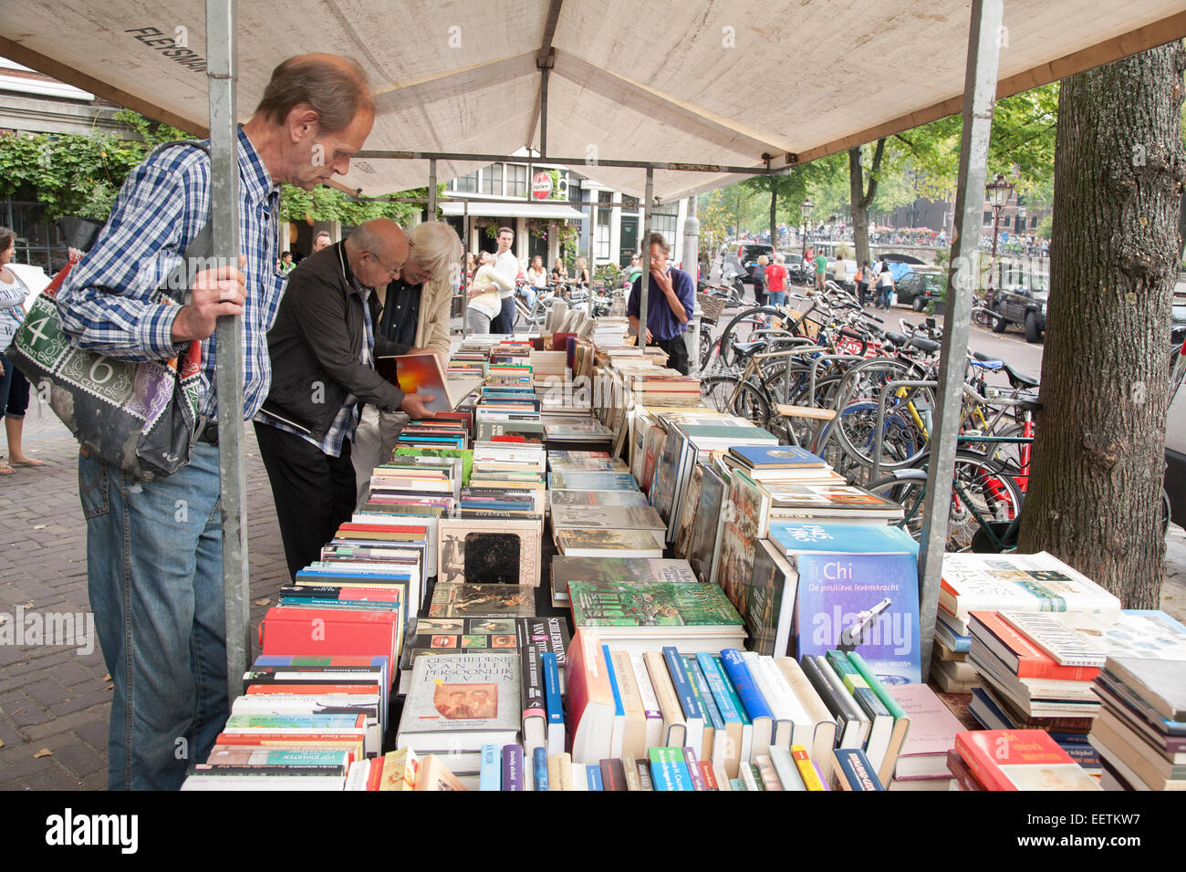 bookshop amsterdam stockfotos bookshop amsterdam bilder alamy. Black Bedroom Furniture Sets. Home Design Ideas