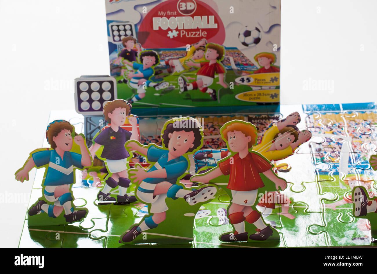 Grafix Meine Erste 3d Fussball Puzzle Mit Stand Up Figuren