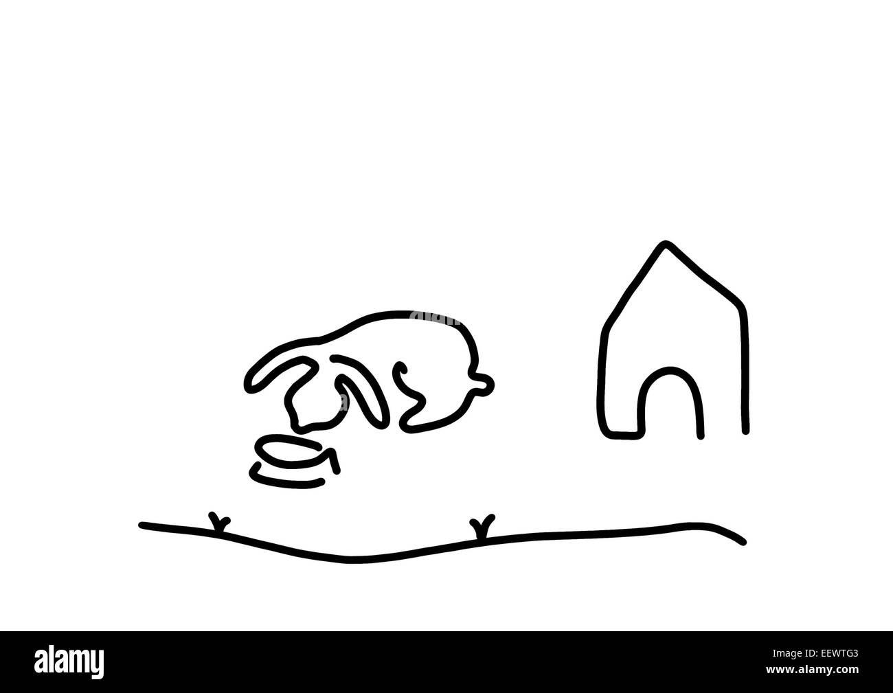 Haustier Kaninchen Hase Stockfoto Bild 78014723 Alamy