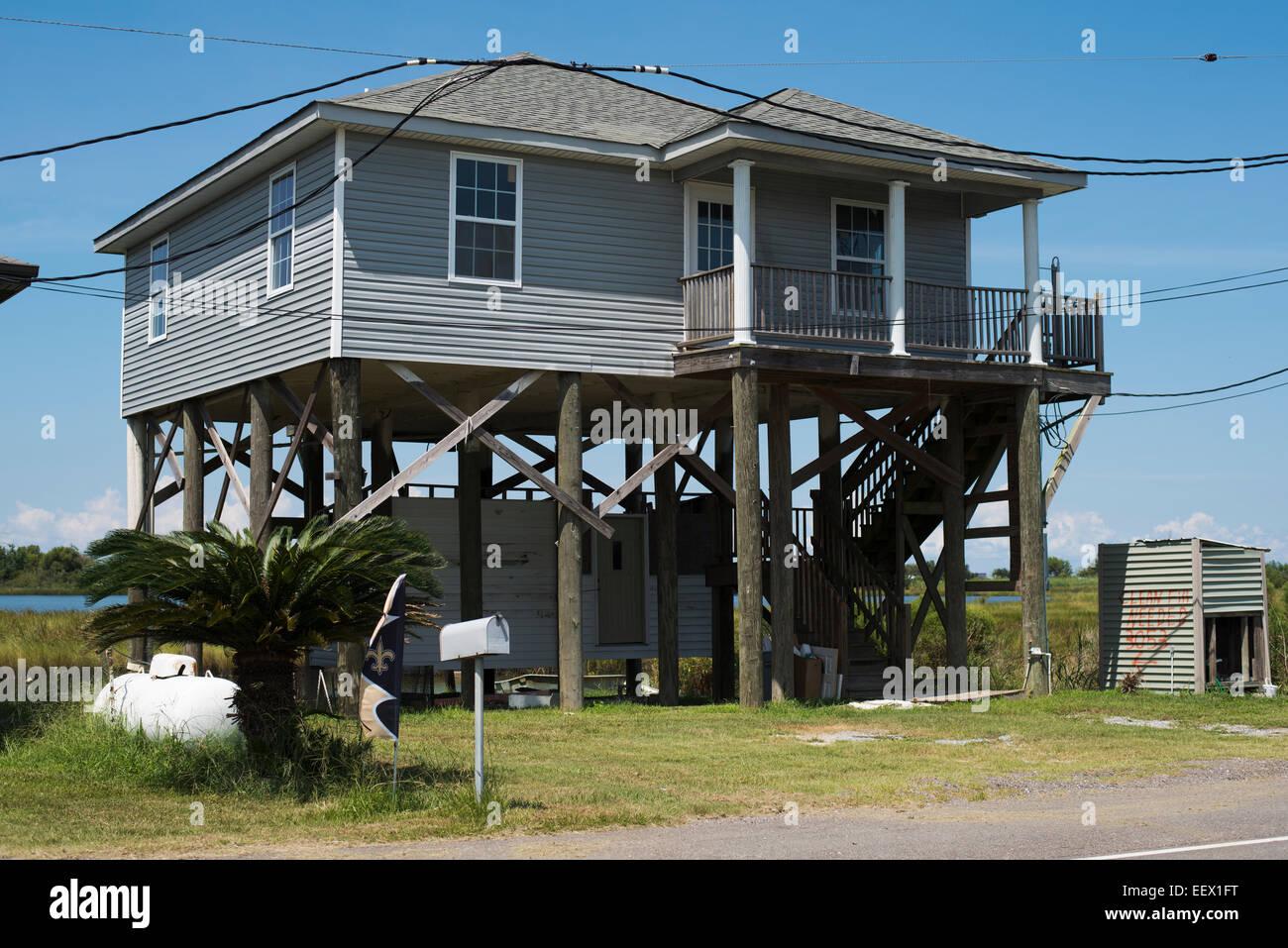 Faszinierend Haus Auf Stelzen Foto Von Golf-küste,