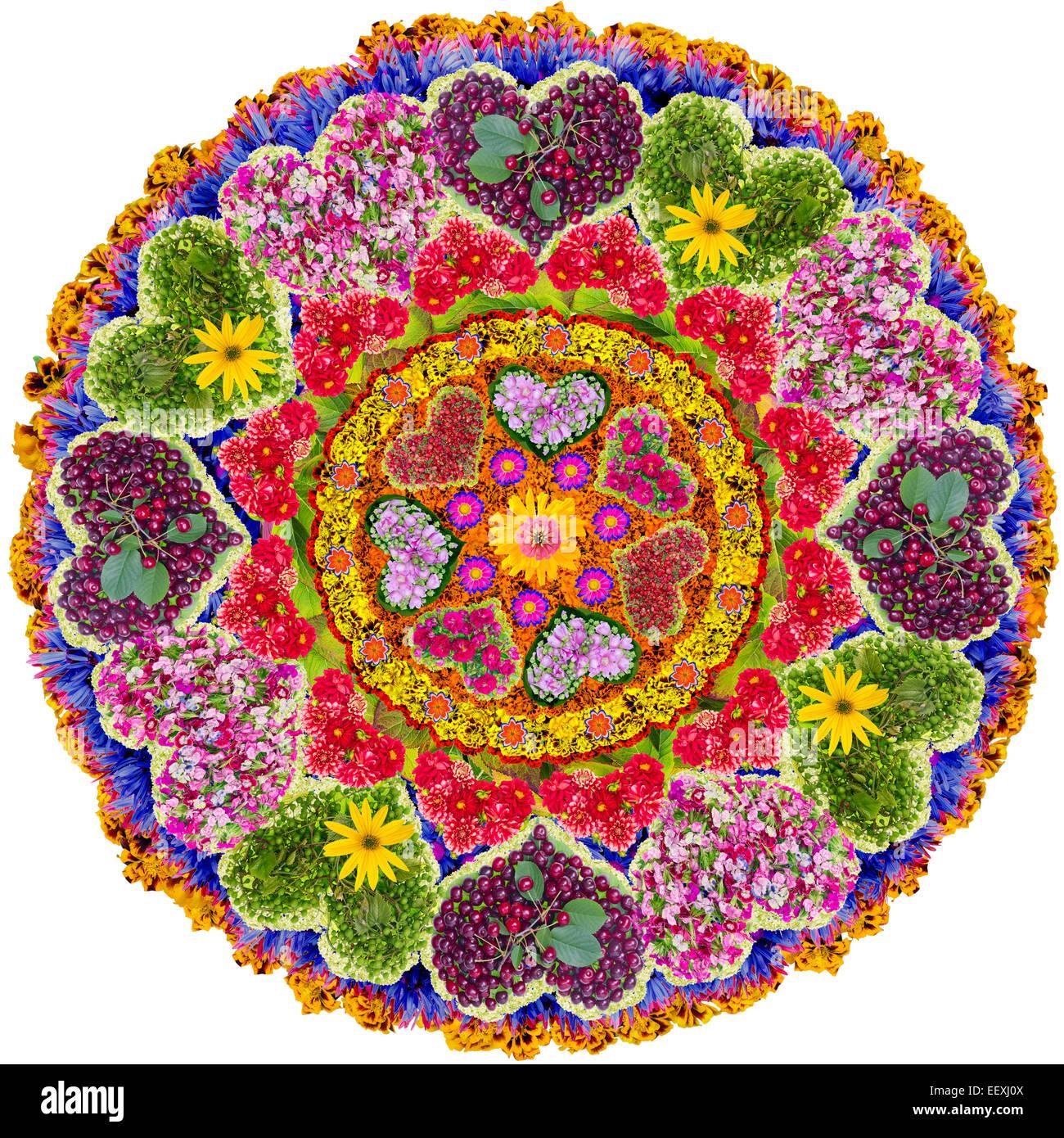 Liebe Mandala Spirituelle Und Rituelle Symbol Im Buddhismus