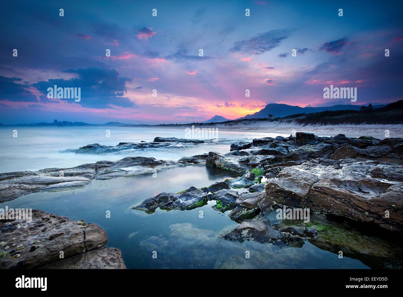 Australische Seascape Stockbild