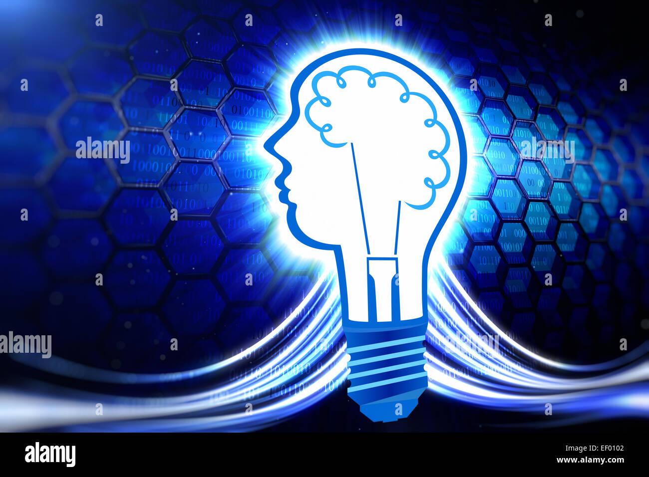 Kreatives Denken Stockbild
