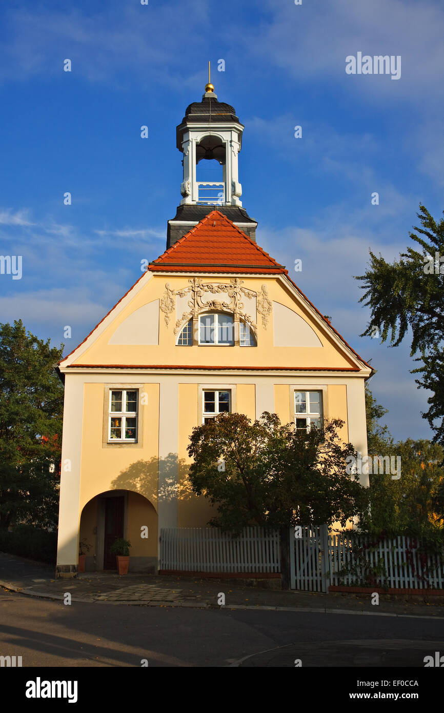 Haus in Radebeul. Stockbild