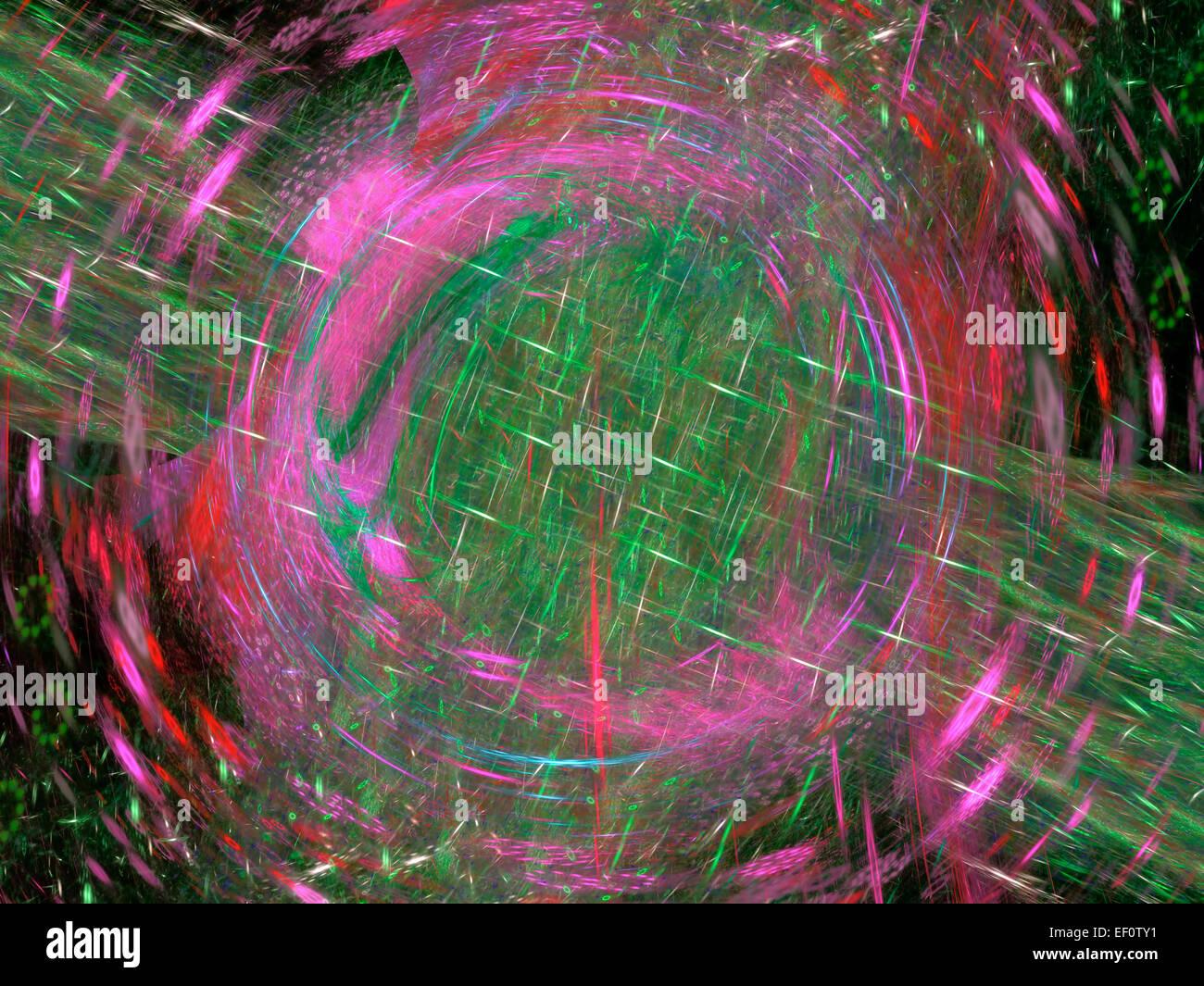 Ein Digital erzeugte Hintergrund Fraktal. Stockbild