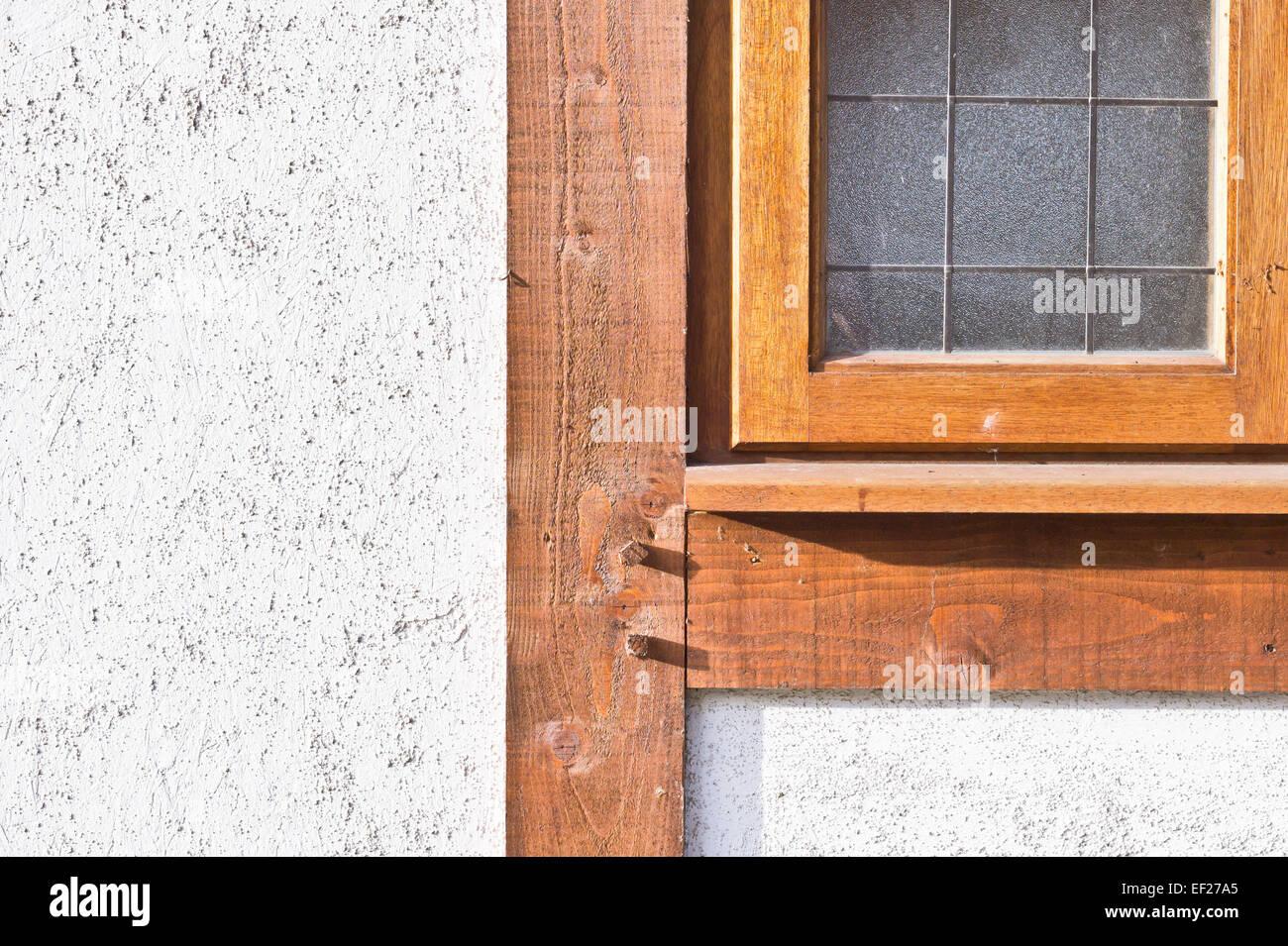 Wooden Window Frame Stockfotos & Wooden Window Frame Bilder - Alamy