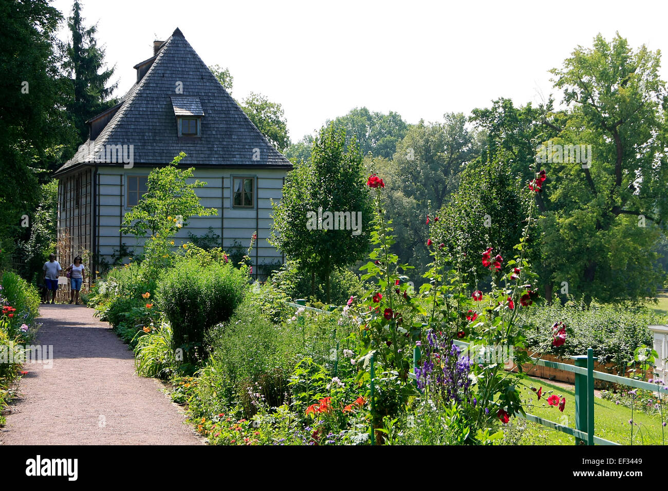 city park weimar stockfotos city park weimar bilder alamy. Black Bedroom Furniture Sets. Home Design Ideas