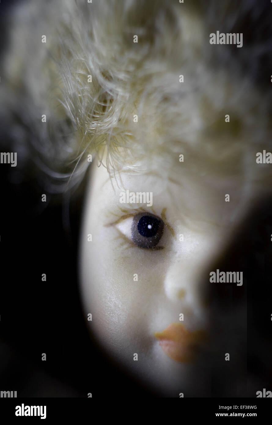starren Puppe Stockbild
