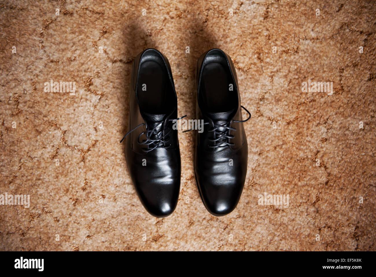 6dd448dc954579 Männliche Kleid Schuhe Eleganz Hochzeit Bräutigam Stiefel Stockbild
