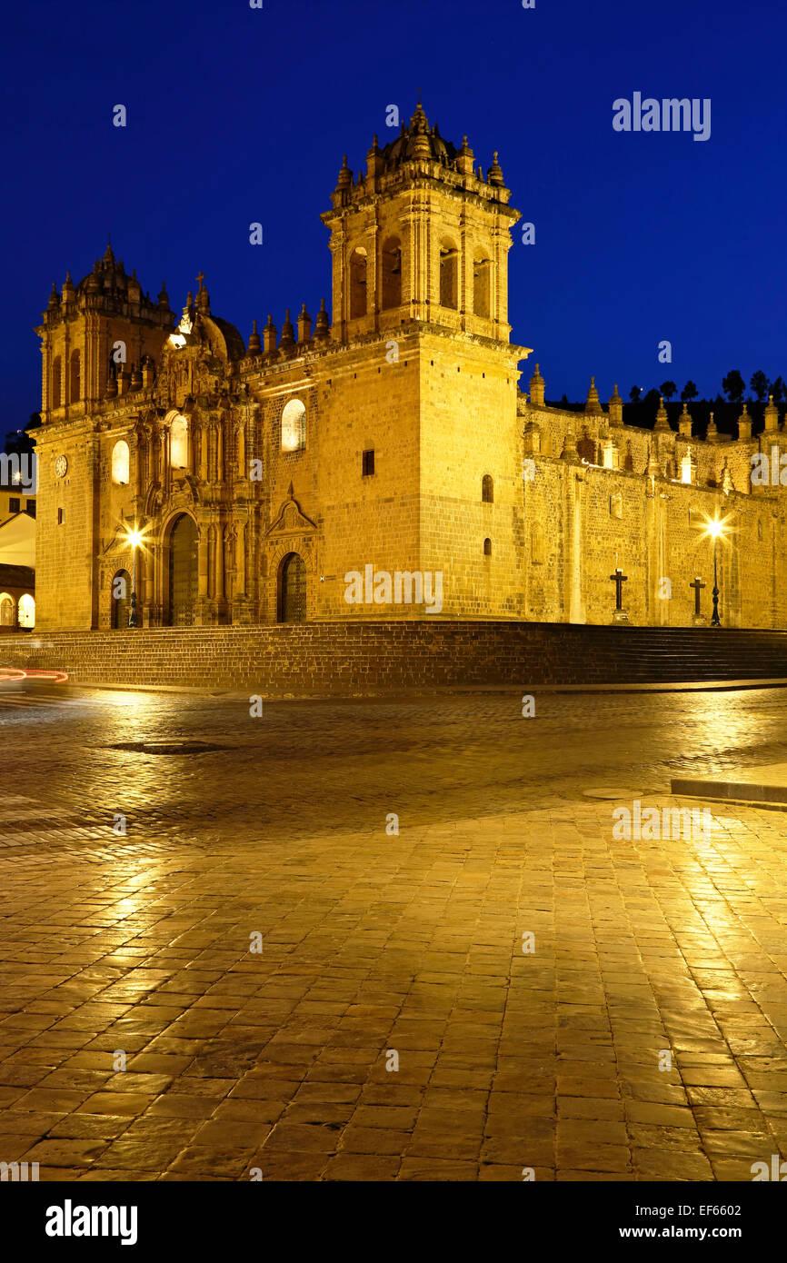 Cusco Kathedrale (Nuestra Señora De La Asunción), Cusco, Peru Stockbild