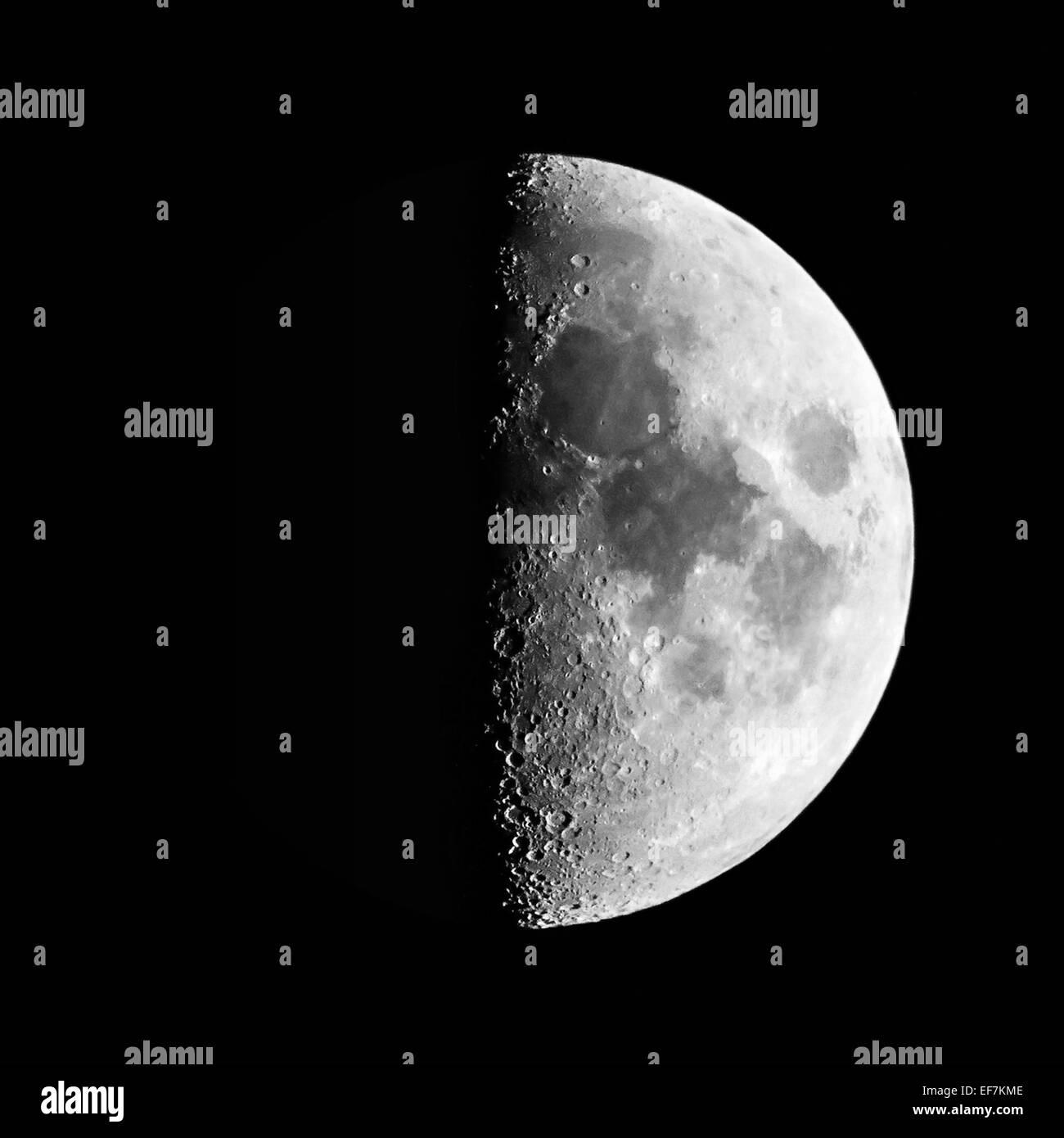 Half Moon Stockbild