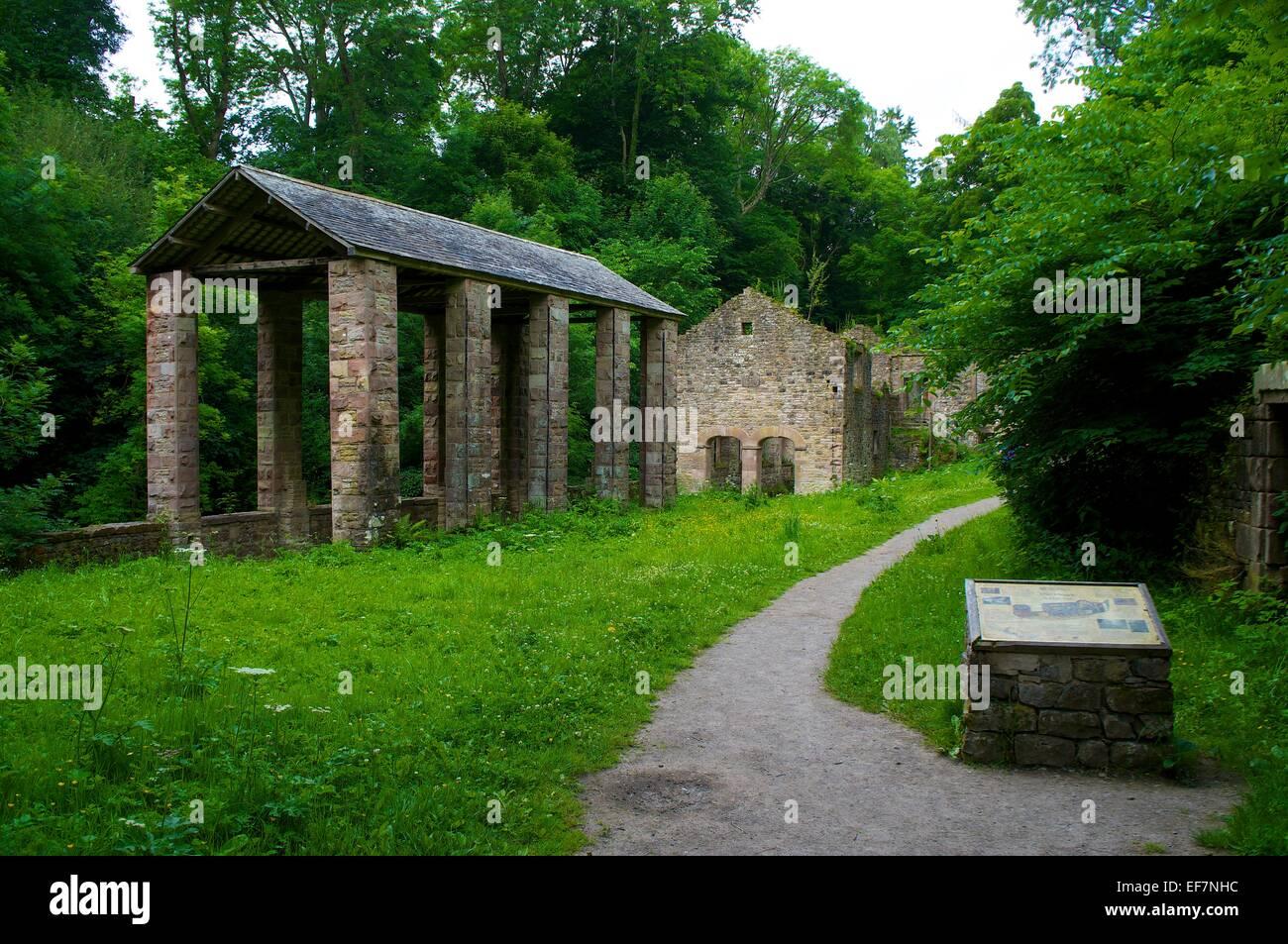 Spule Mühle Howk Calbeck Cumbria England UK. Stockbild