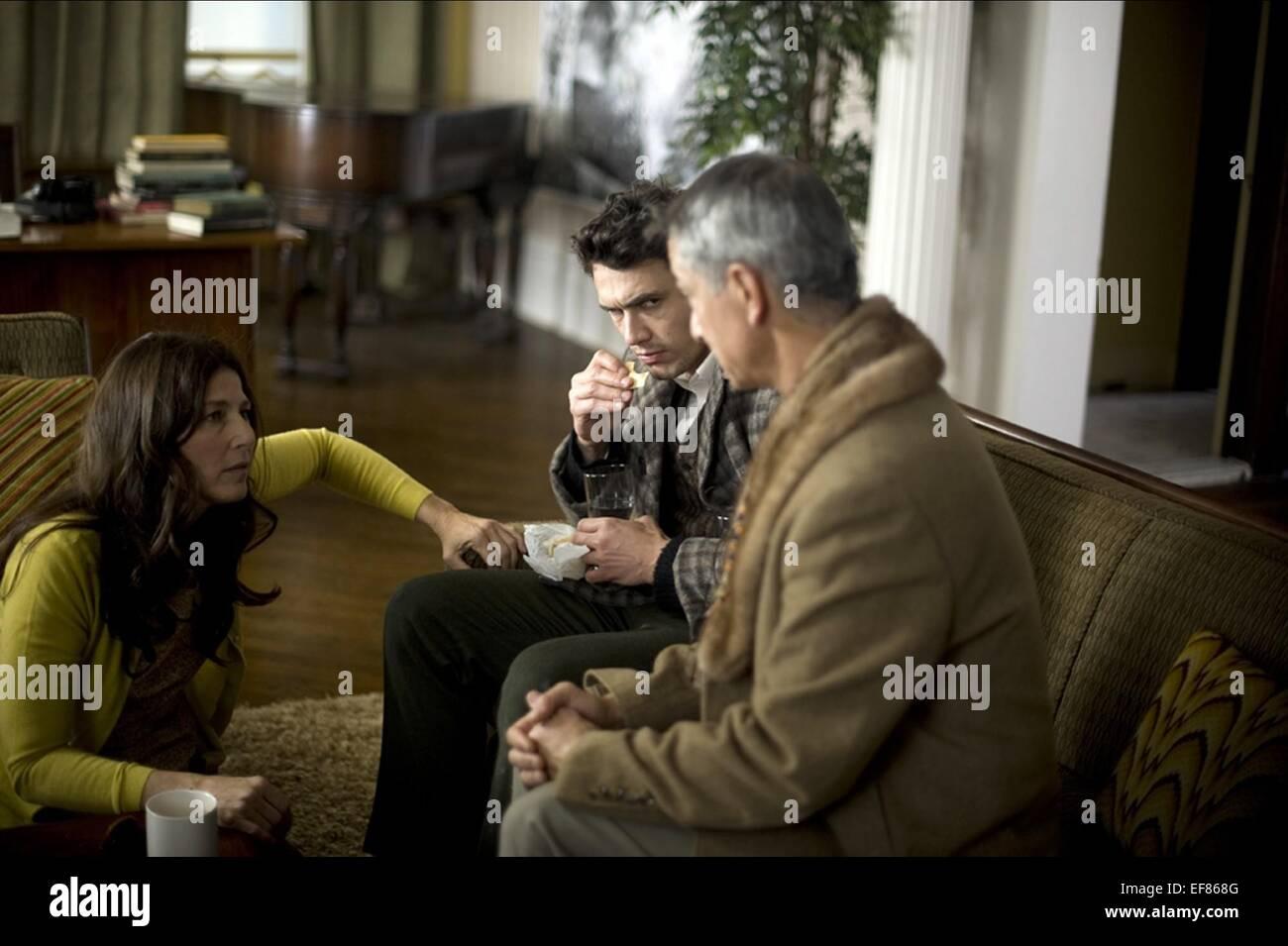 CATHERINE KEENER JAMES FRANCO & DAVID STRATHAIRN KRANKHEITEN (2012) Stockbild