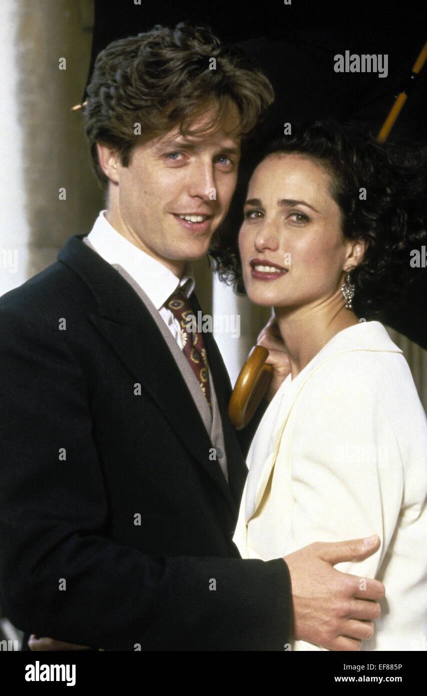 Hugh Grant Andie Macdowell Vier Hochzeiten Und Ein Todesfall 1994