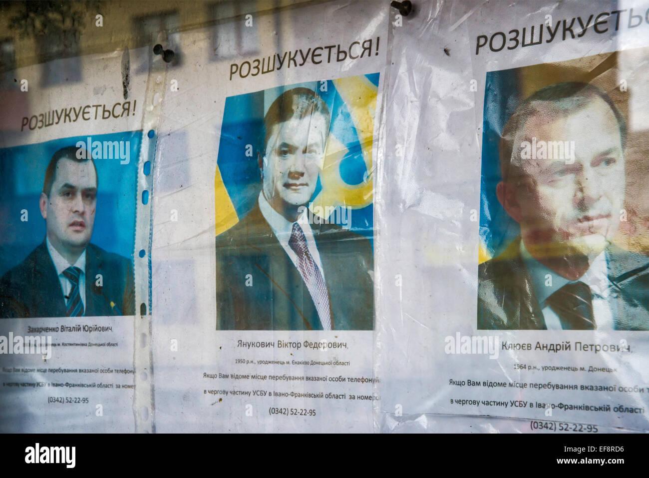 Haftbefehl Brief Für Den Früheren Präsidenten Viktor Yanukovich