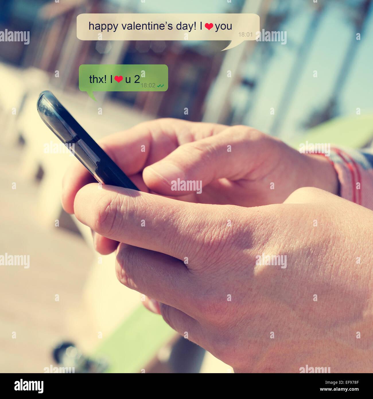 SMS Text datieren Online-Dating vs meeting in Person