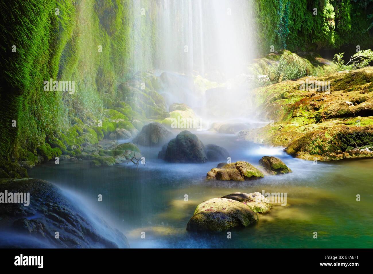 Kur?unlu-Wasserfälle in Antalya, Türkei Stockbild