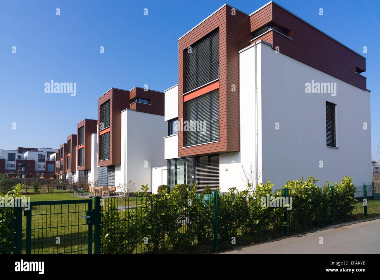 Einfamilienhaus moderne architektur im bauhausstil riedenberg frankfurt am main deutschland - Moderne architektur in deutschland ...