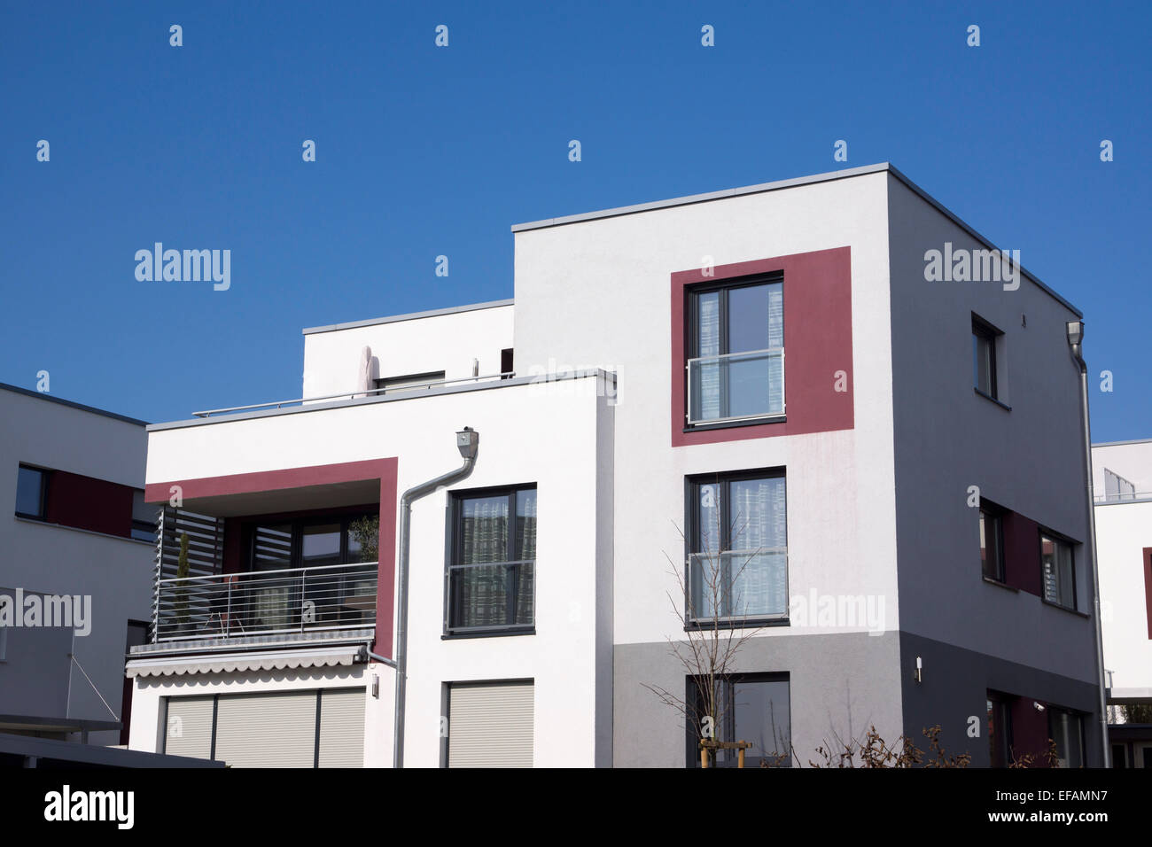 Bauhaus style stockfotos bauhaus style bilder alamy - Moderne architektur in deutschland ...