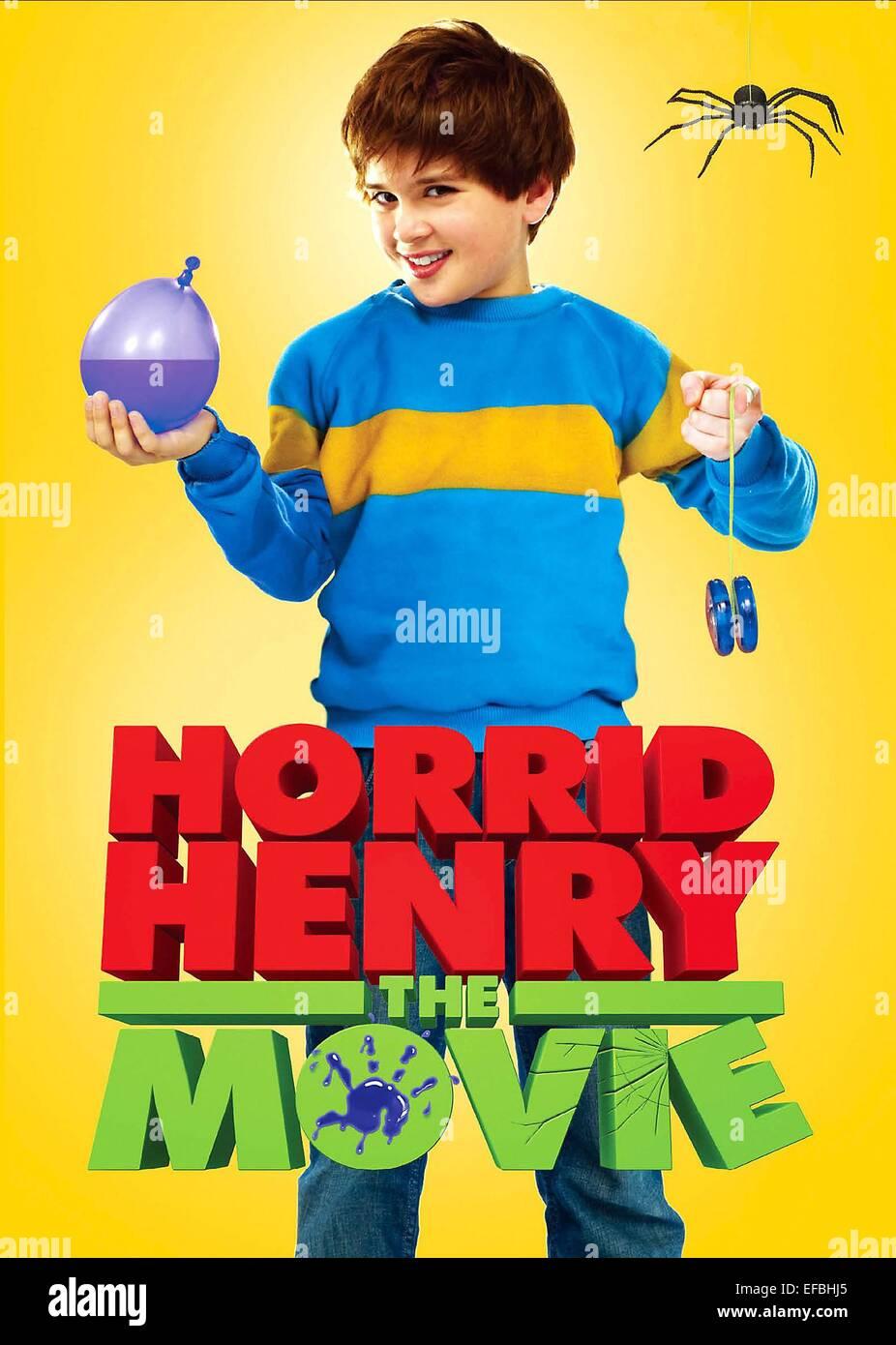 Film Poster Horrid Henry Der Film 2011