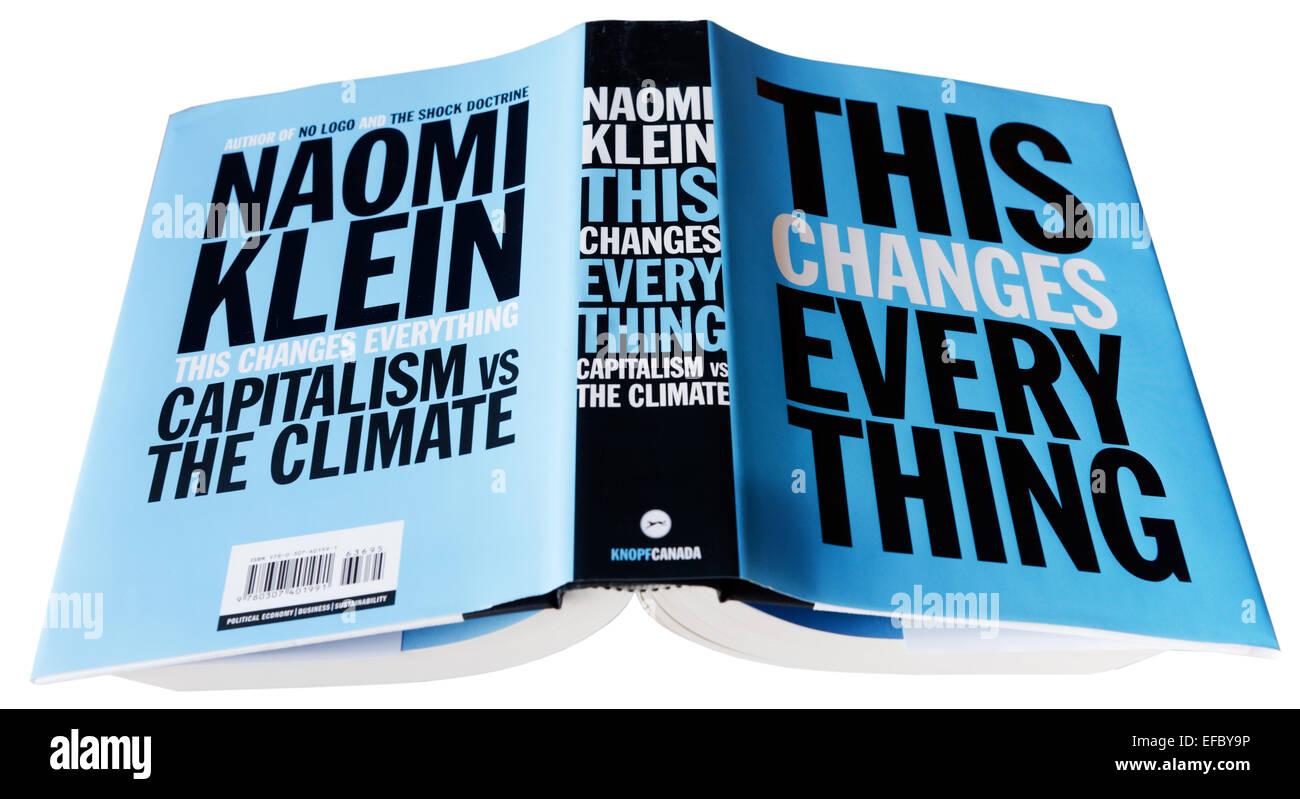 Das ändert alles von Naomi Klein Stockbild